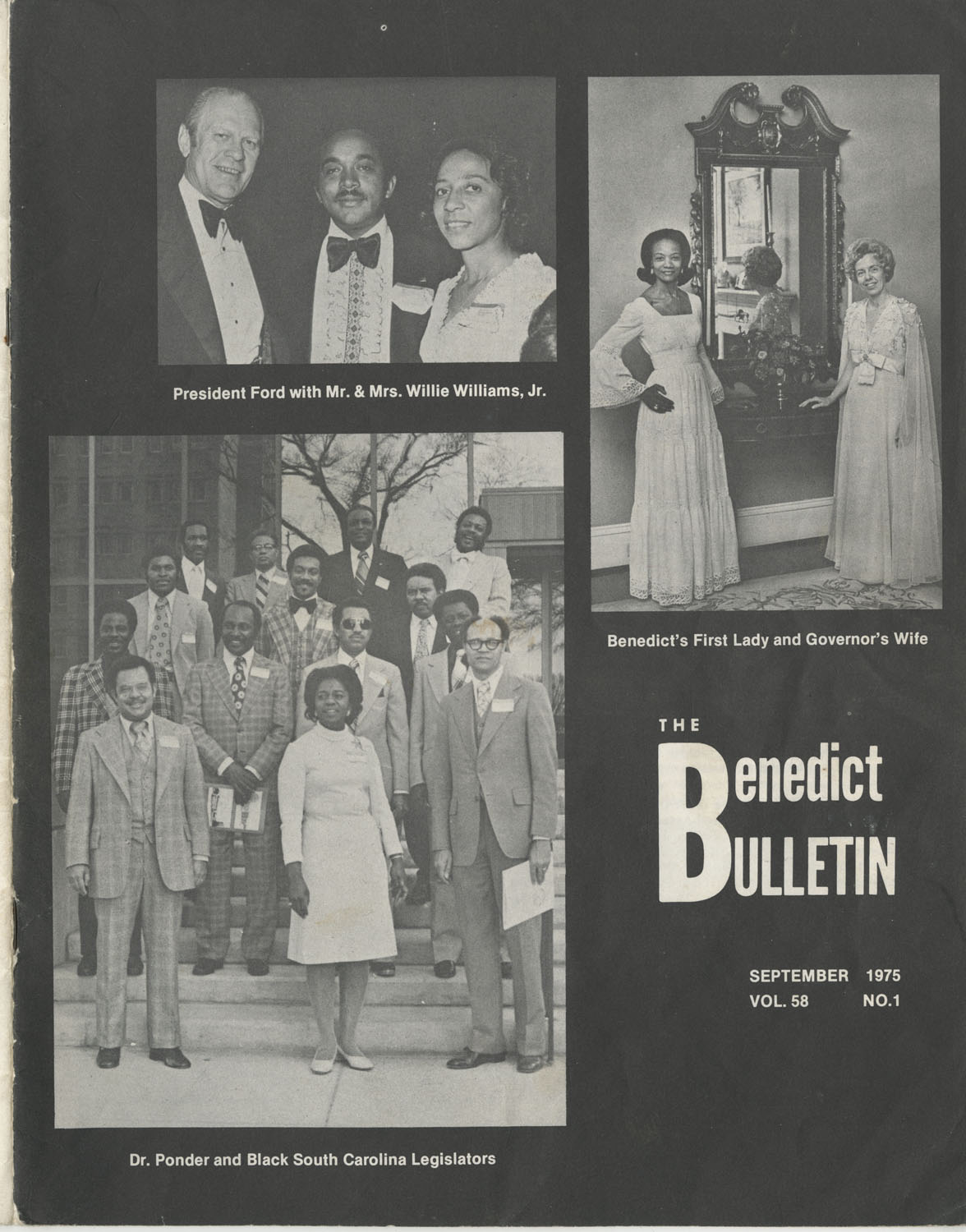 The Benedict Bulletin, September 1975, Front Cover