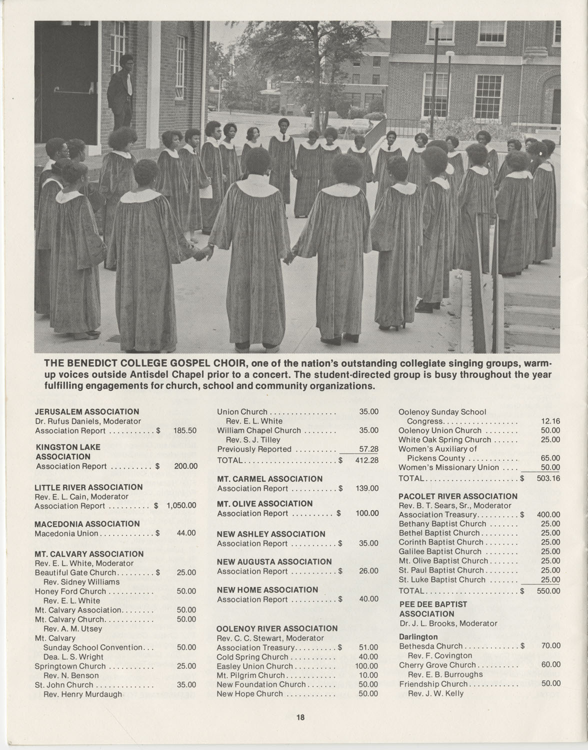 The Benedict Bulletin, October 1976, Page 18