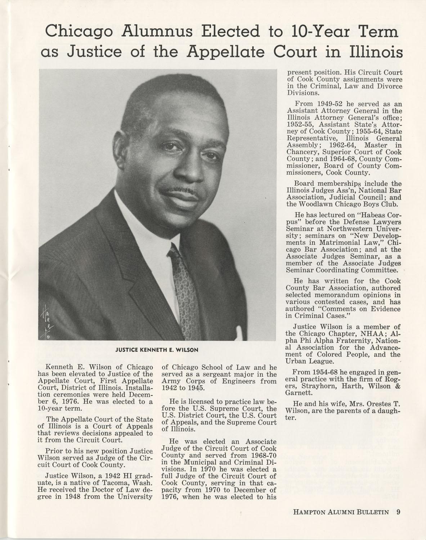 The Hampton Bulletin, Winter 1977, Page 9