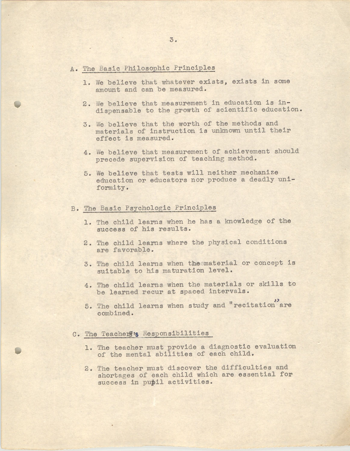 The Testing Program, 1945, Page 3