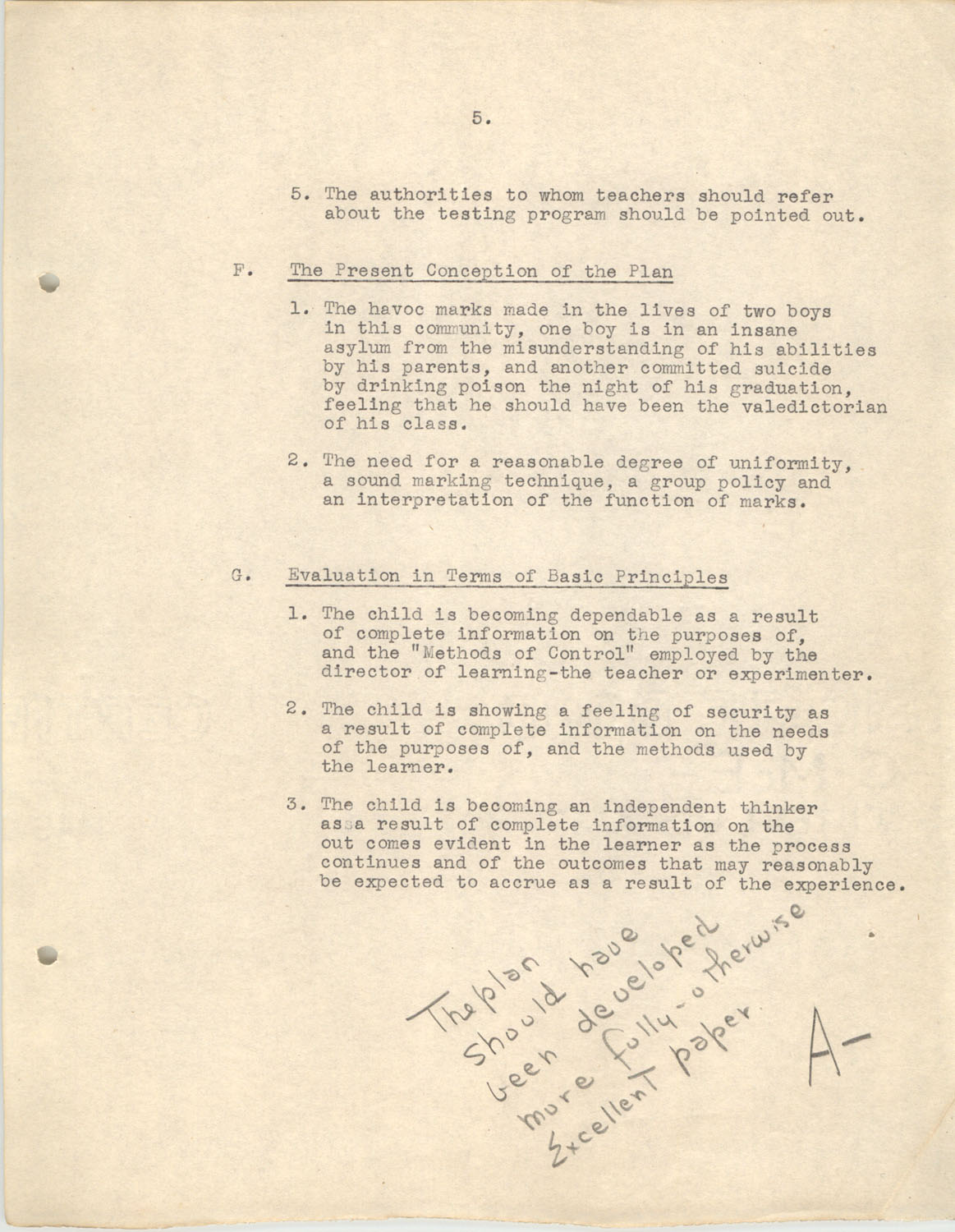 The Testing Program, 1945, Page 5