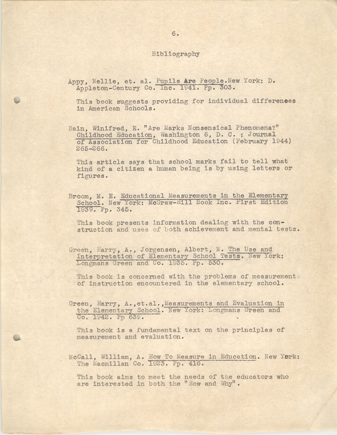 The Testing Program, 1945, Page 6