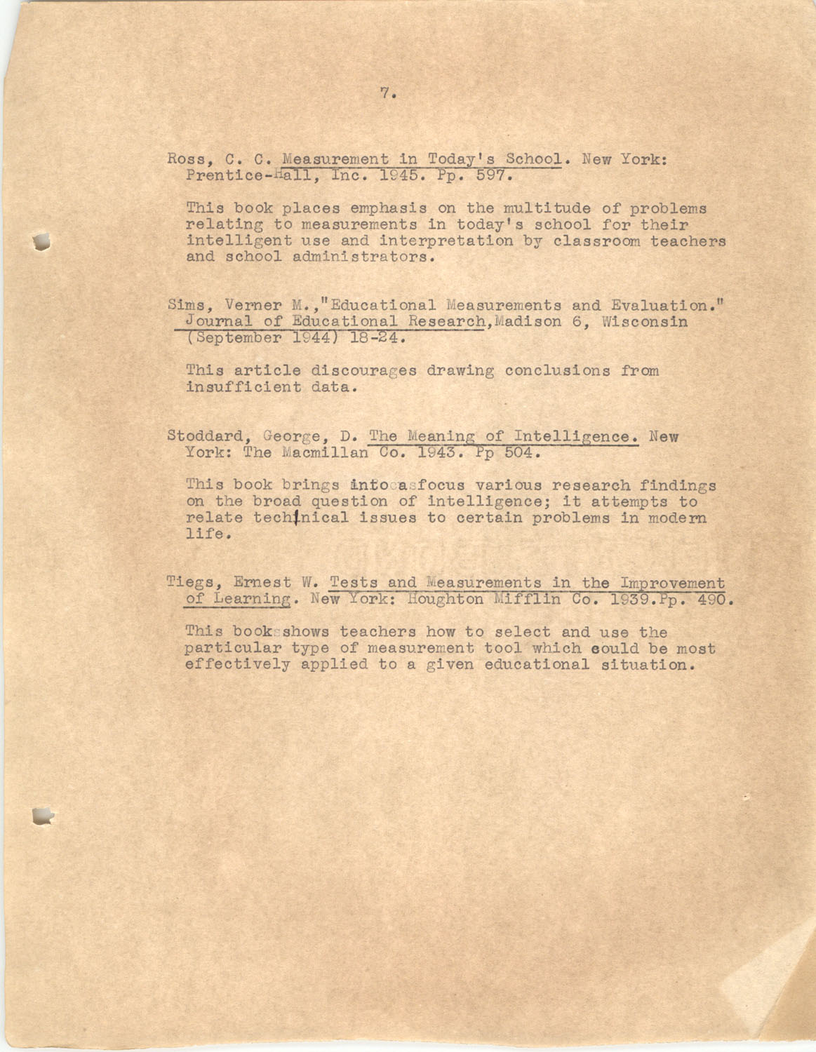 The Testing Program, 1945, Page 7