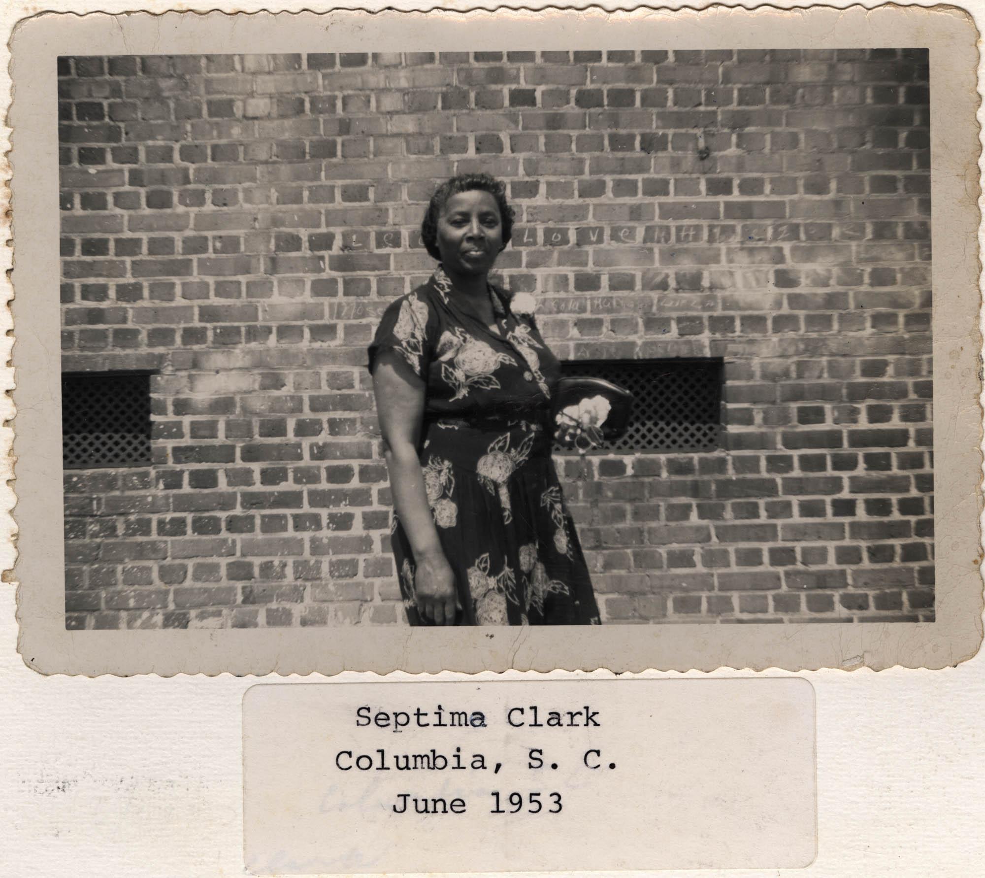 Septima P. Clark Scrapbook, Page 8