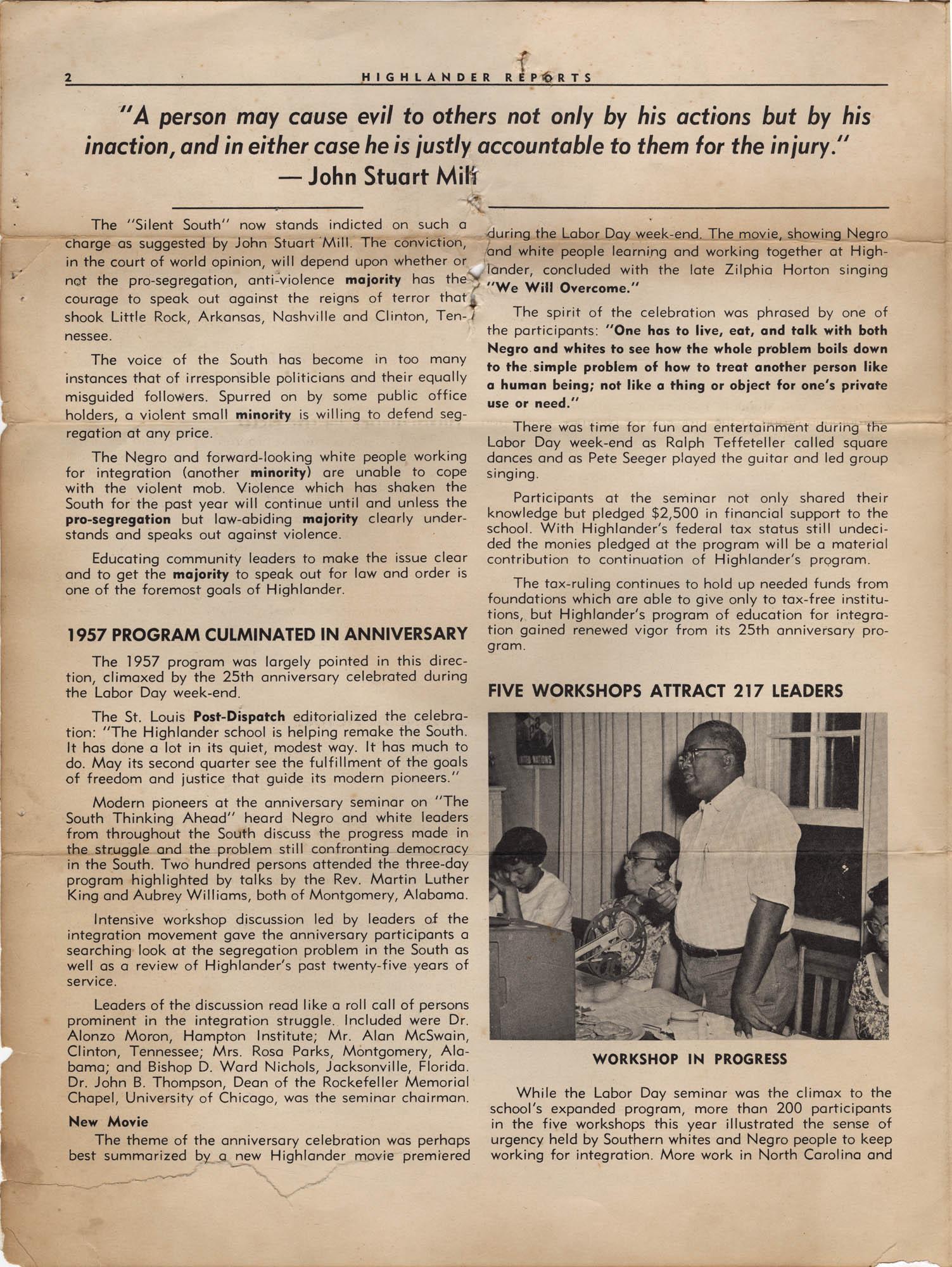 Septima P. Clark Scrapbook, Page 16