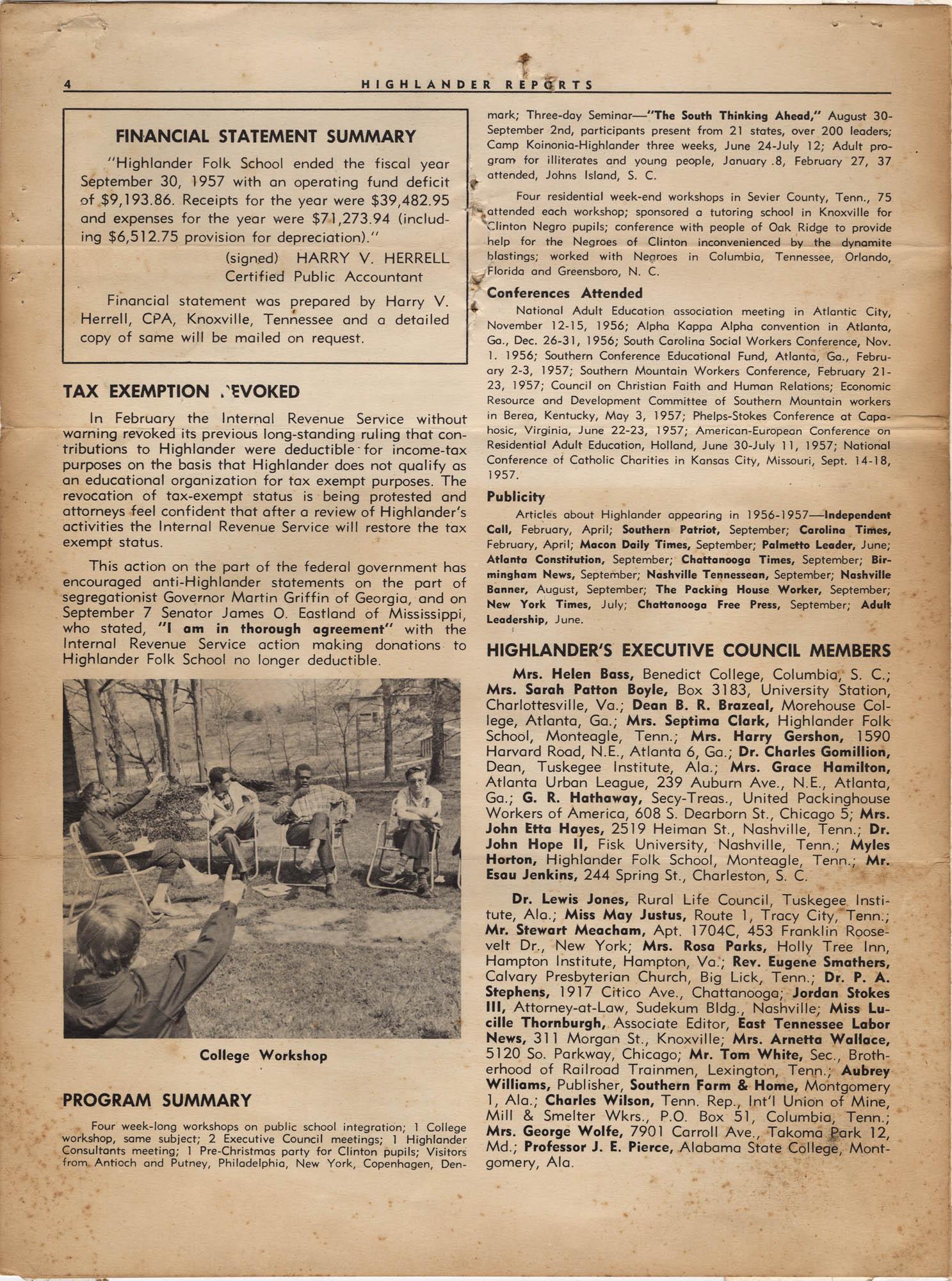 Septima P. Clark Scrapbook, Page 18