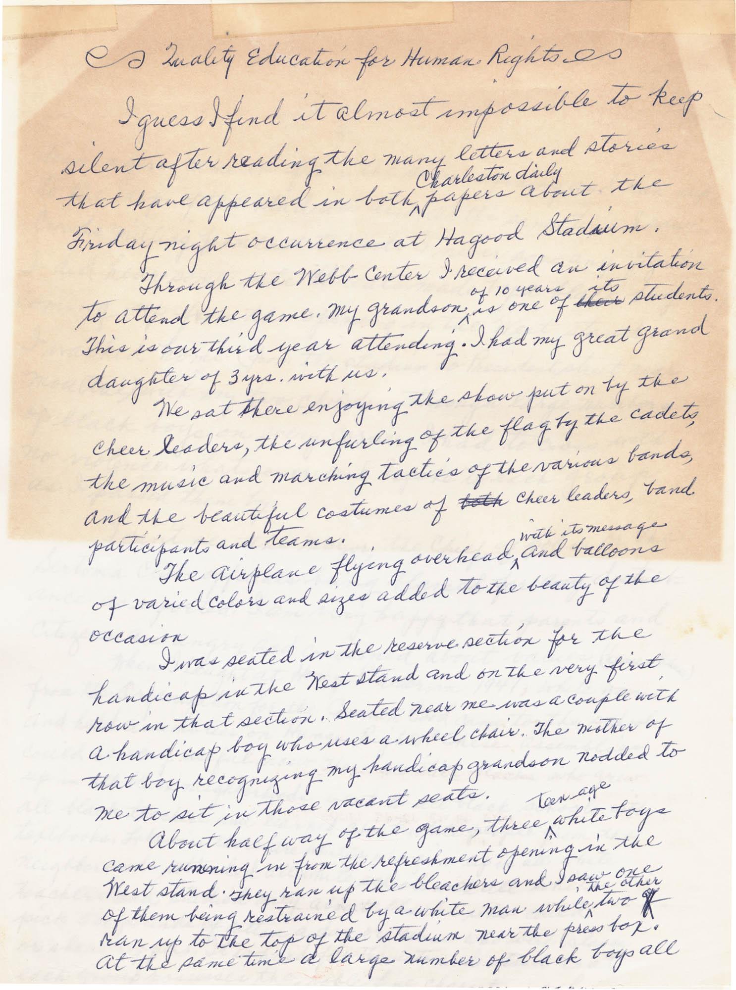 Septima P. Clark Scrapbook, Page 111