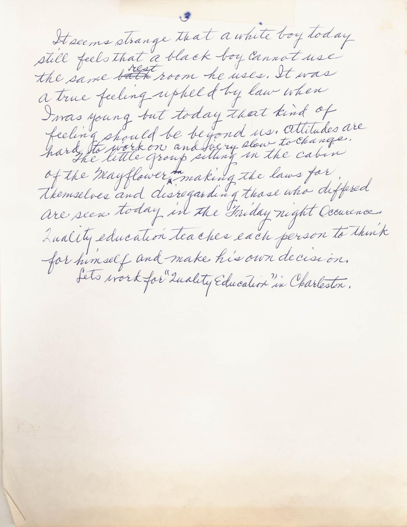 Septima P. Clark Scrapbook, Page 113