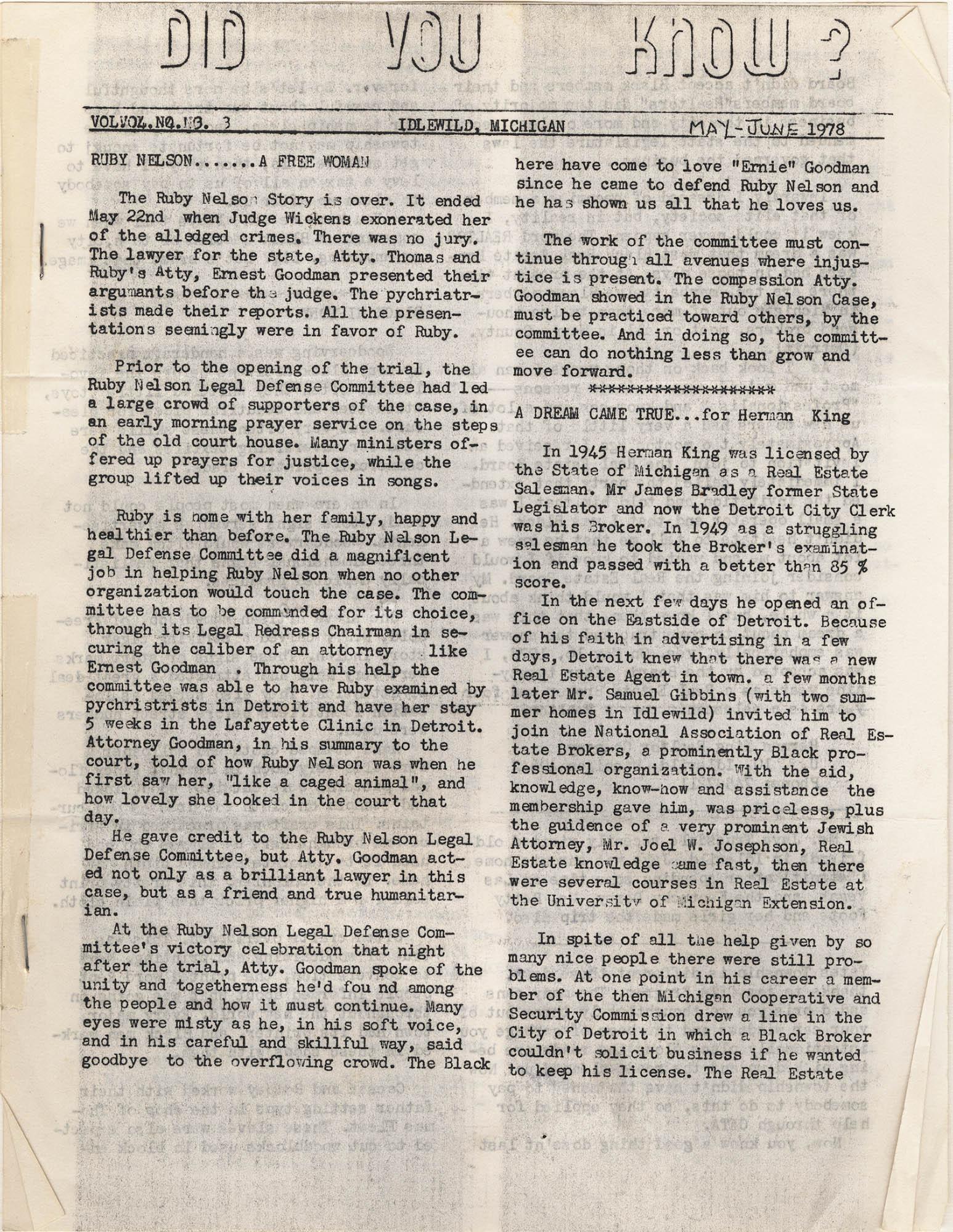 Septima P. Clark Scrapbook, Page 133