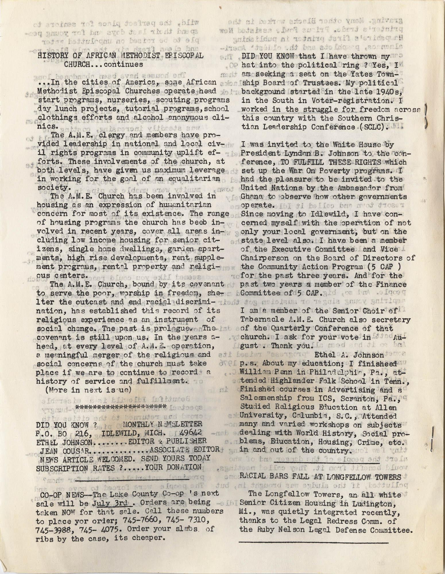 Septima P. Clark Scrapbook, Page 136