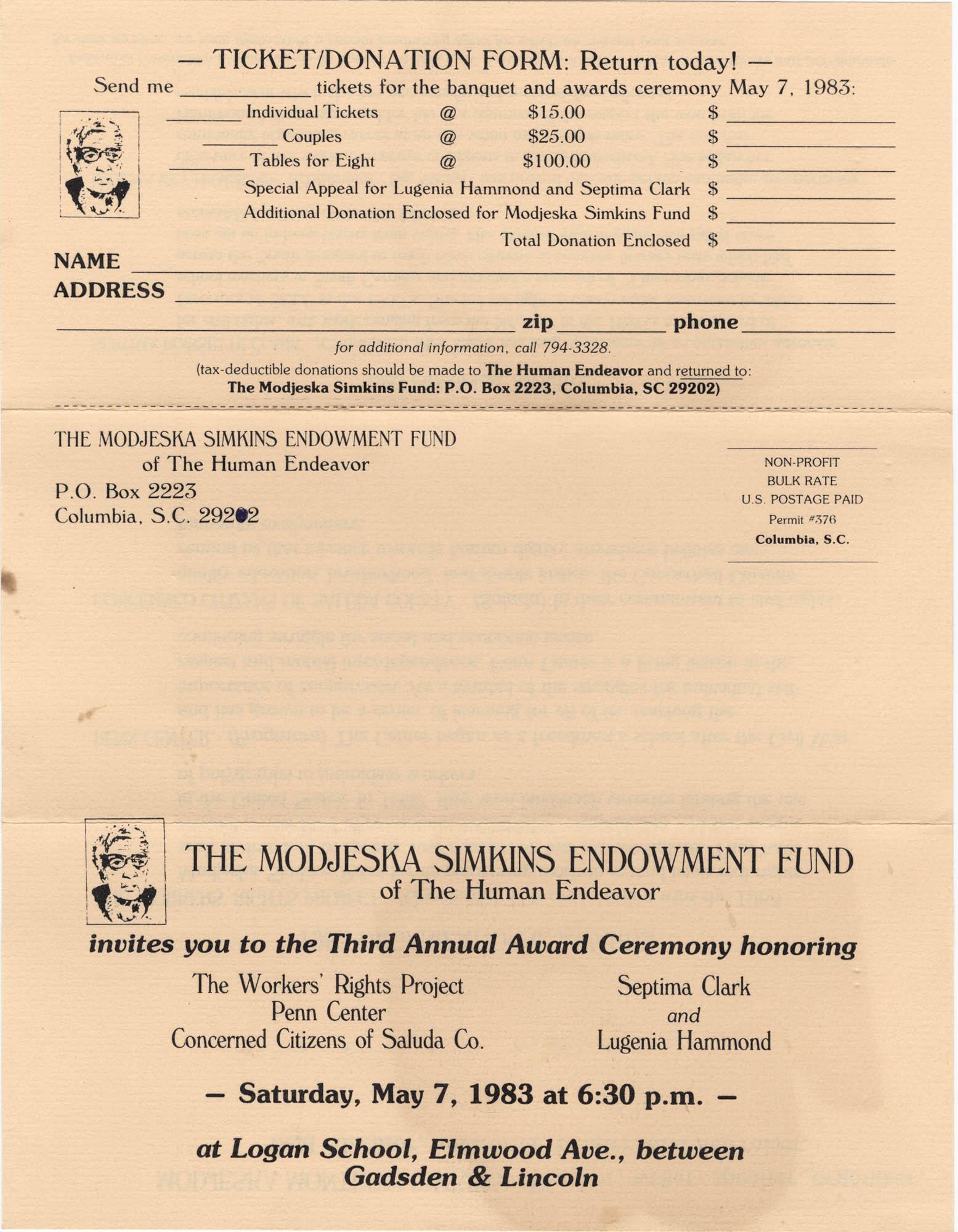 Septima P. Clark Scrapbook, Page 171