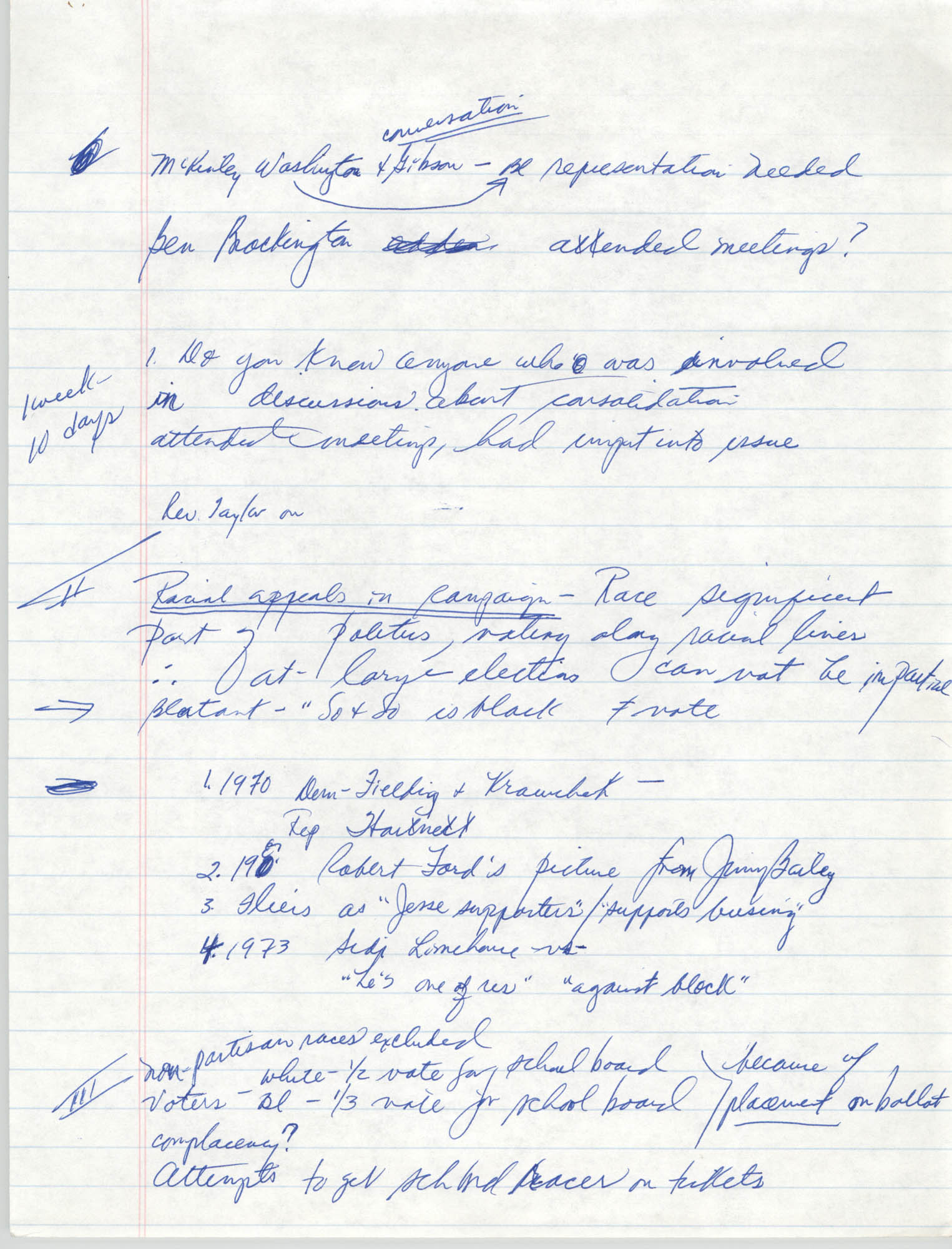 Handwritten Notes, Page 2