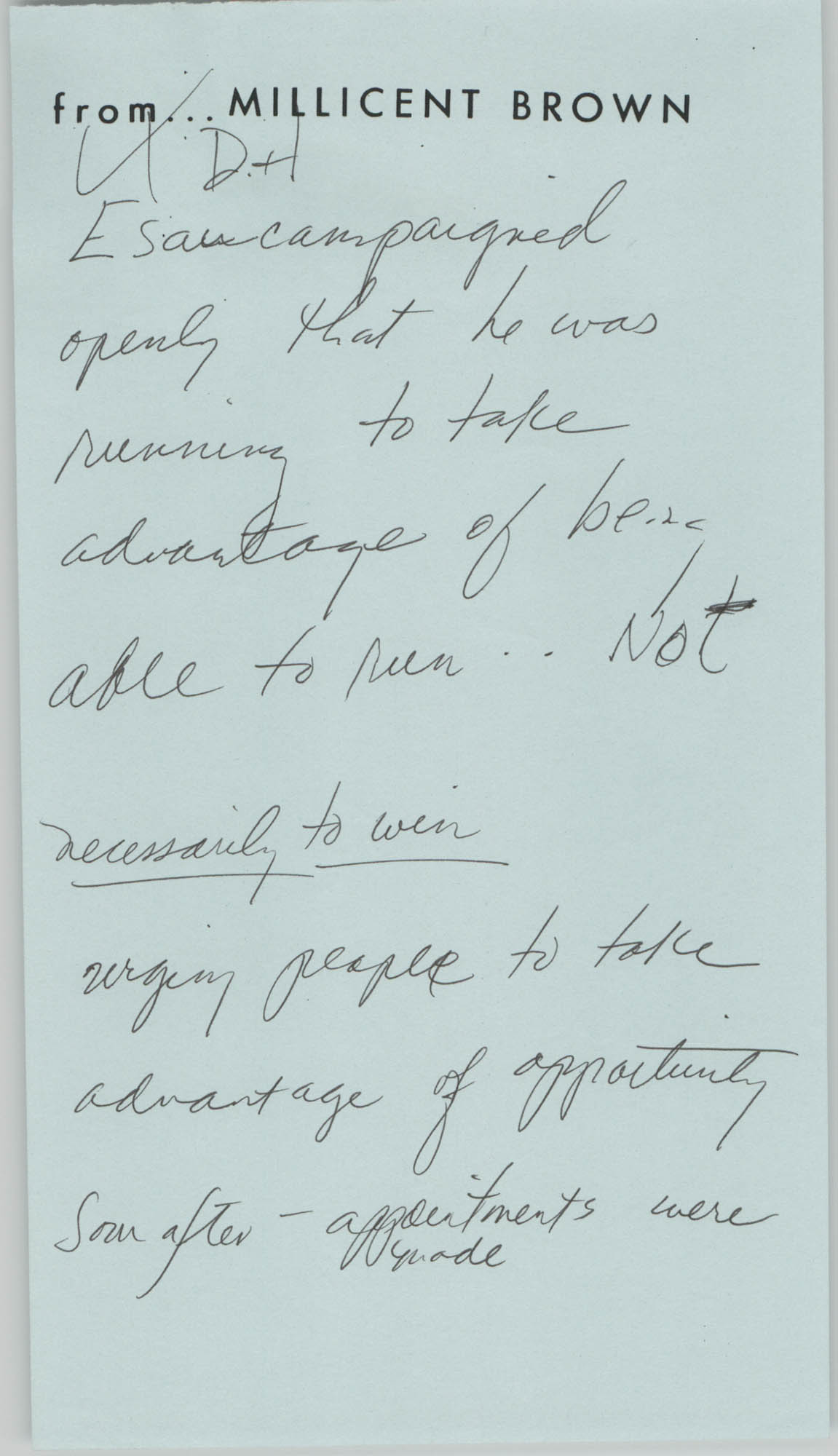 Handwritten Notes, Page 5