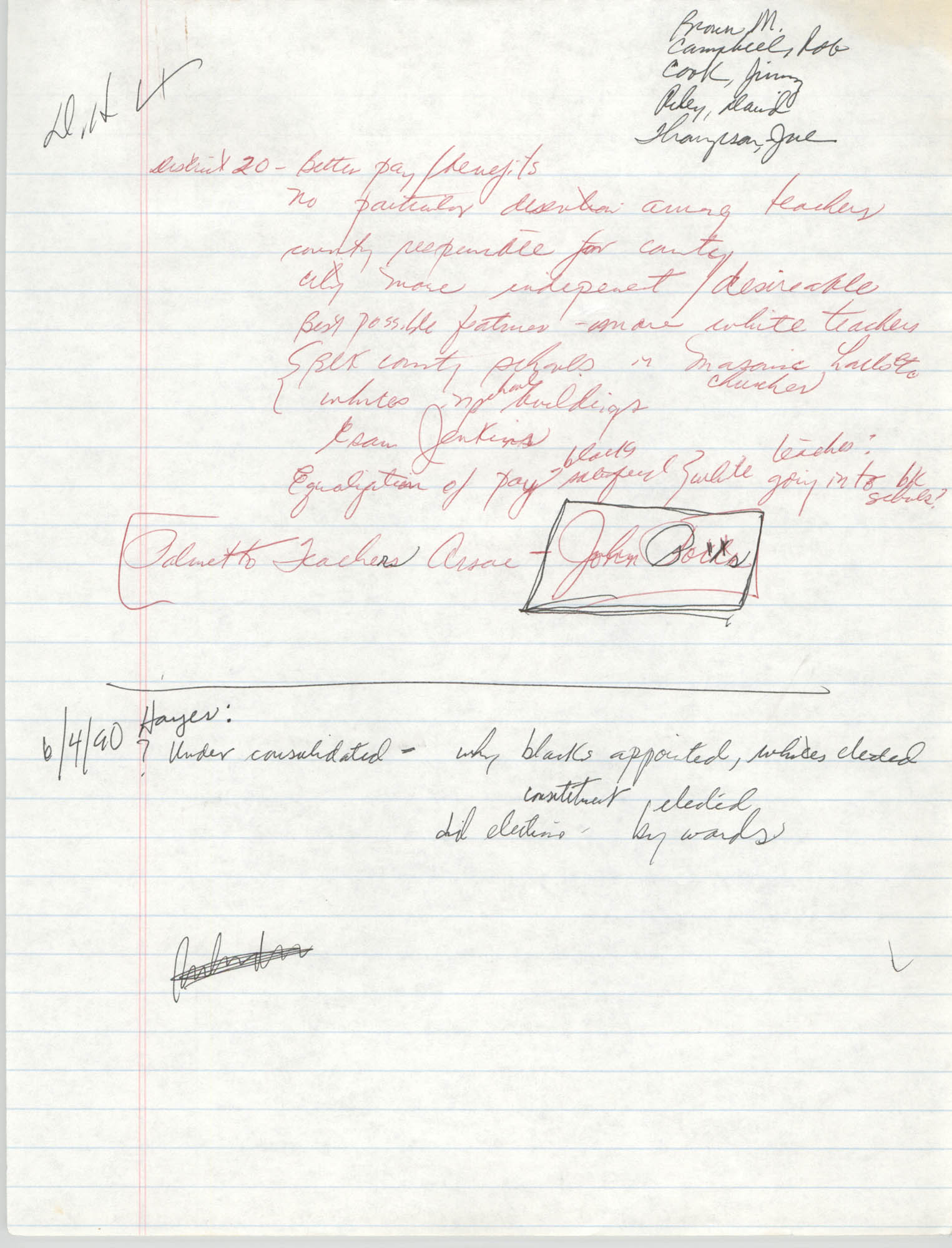 Handwritten Notes, Page 6