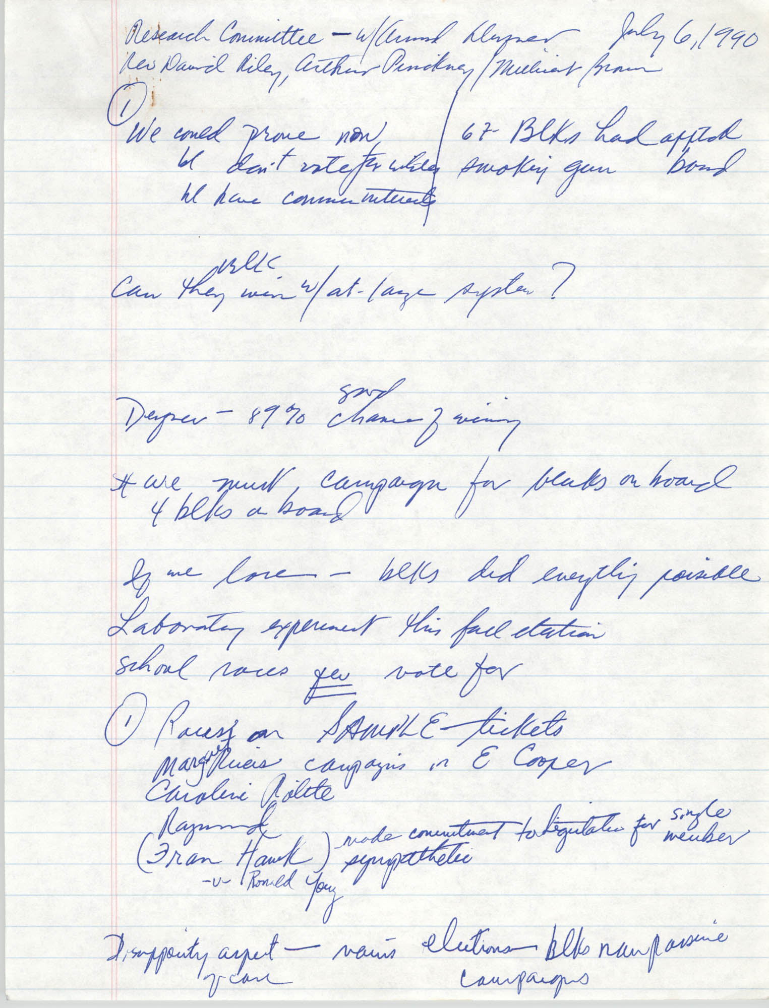 Handwritten Notes, Page 7