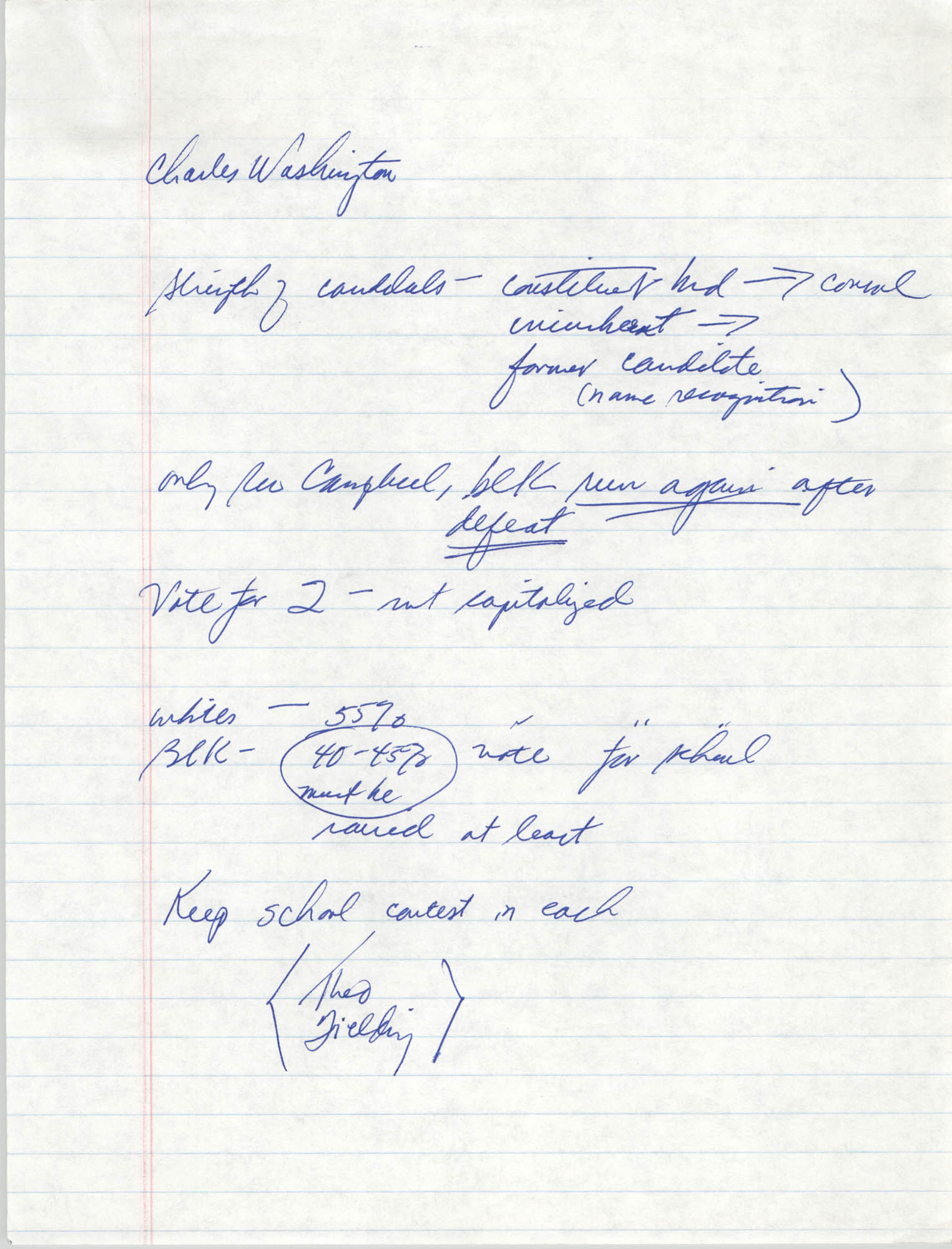 Handwritten Notes, Page 8