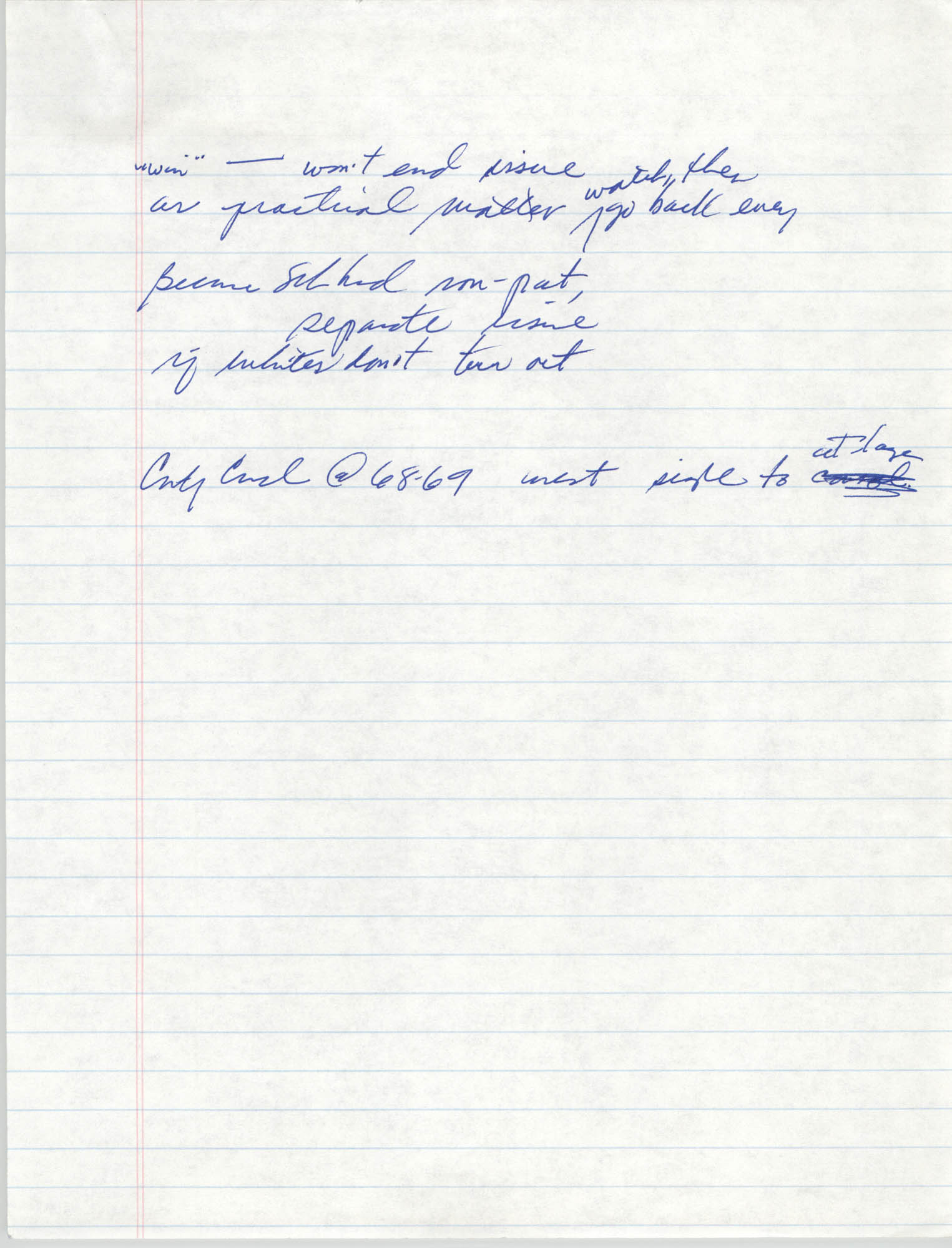 Handwritten Notes, Page 9