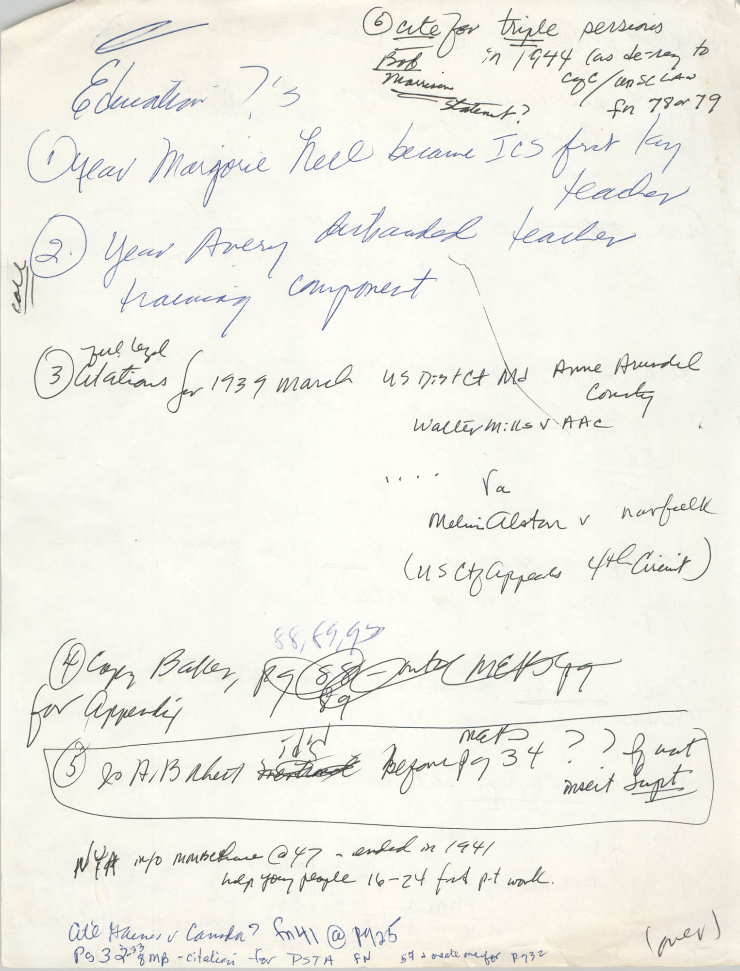Handwritten Notes, Page 12