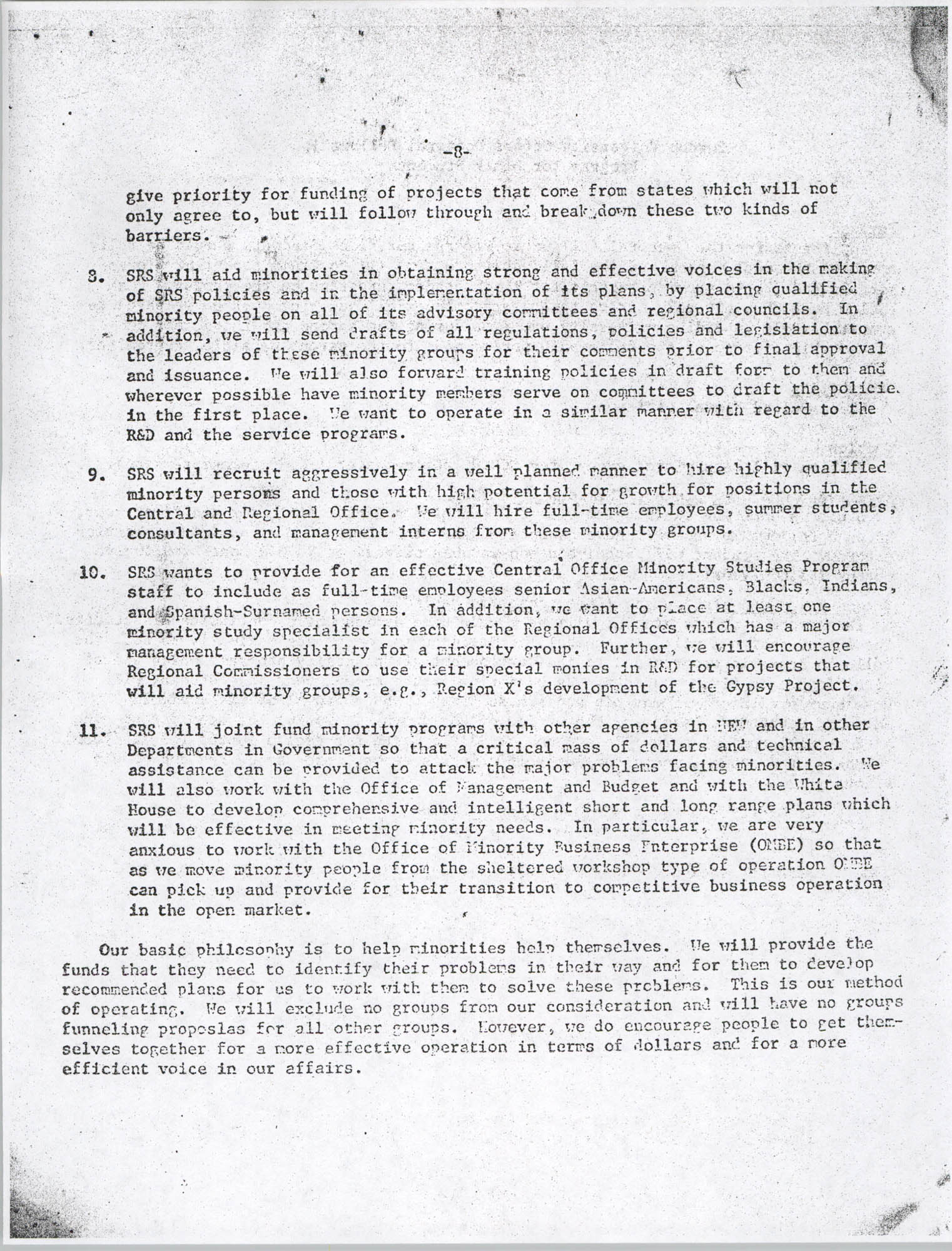 Black Educators Council for Human Services, Volume 1, Number 1, Page 8