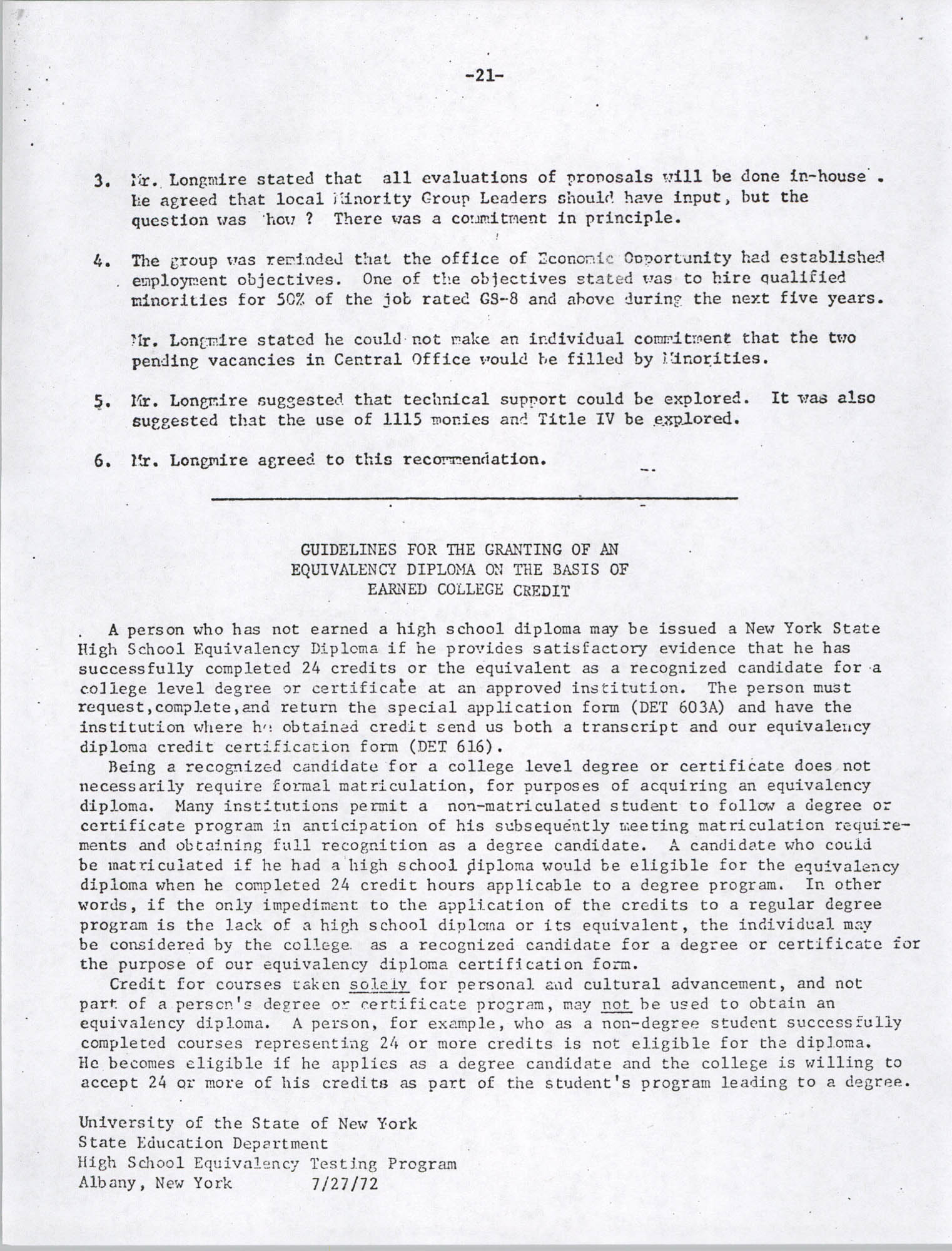 Black Educators Council for Human Services, Volume 1, Number 1, Page 21