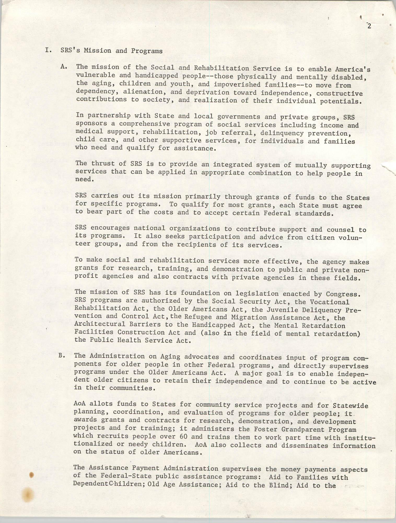 SHARE, Volume I, Number 8, April 1973, Page 2