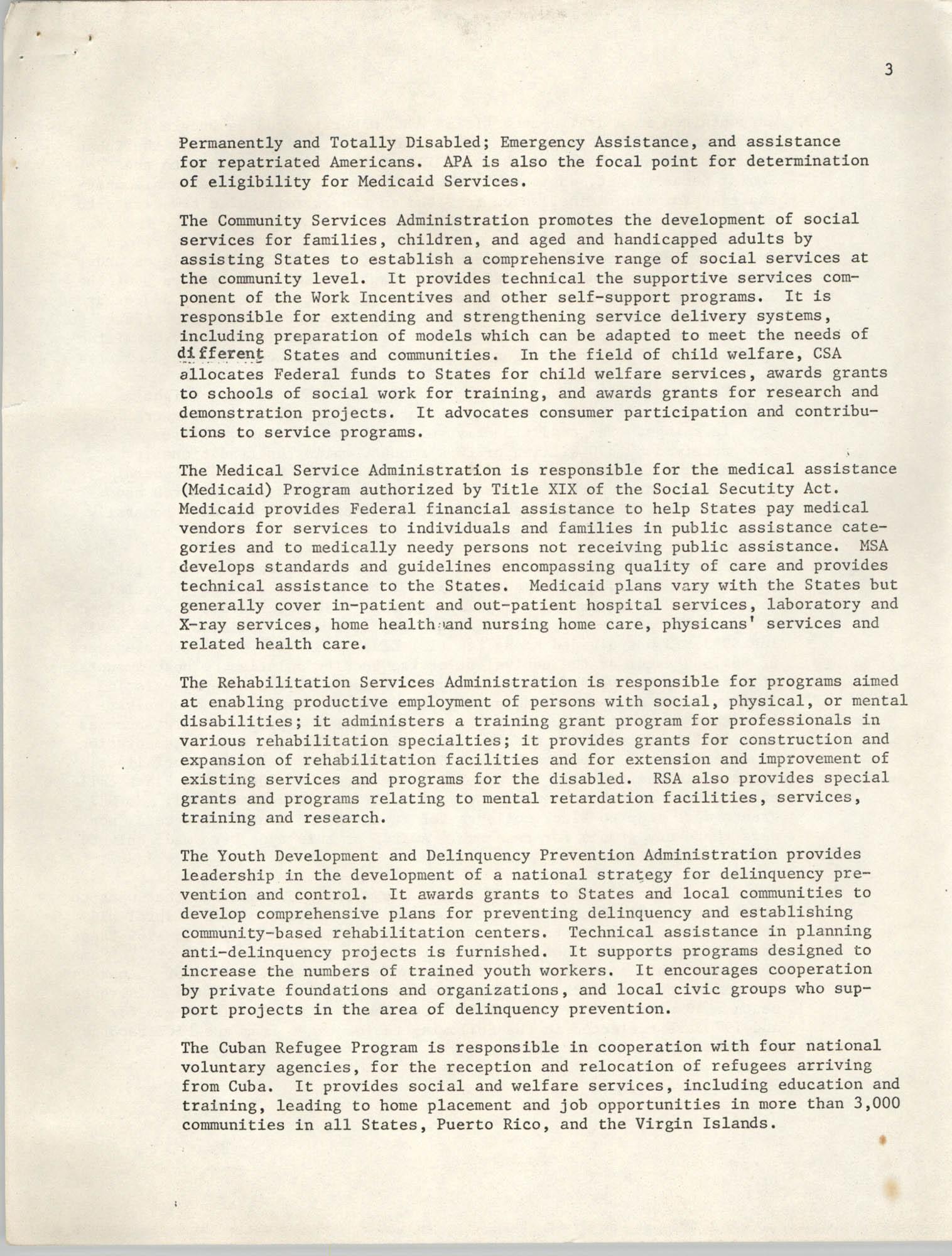 SHARE, Volume I, Number 8, April 1973, Page 3