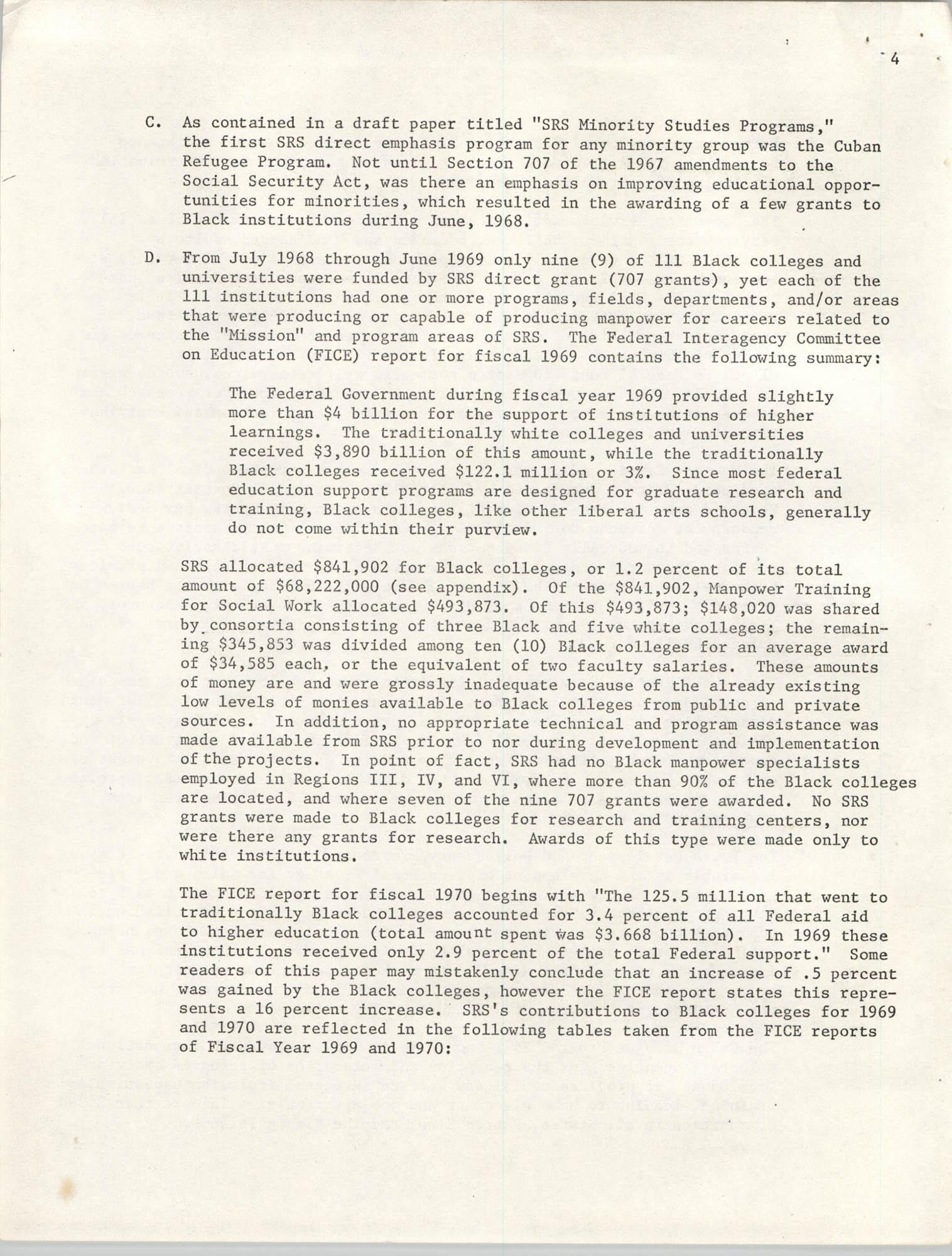 SHARE, Volume I, Number 8, April 1973, Page 4
