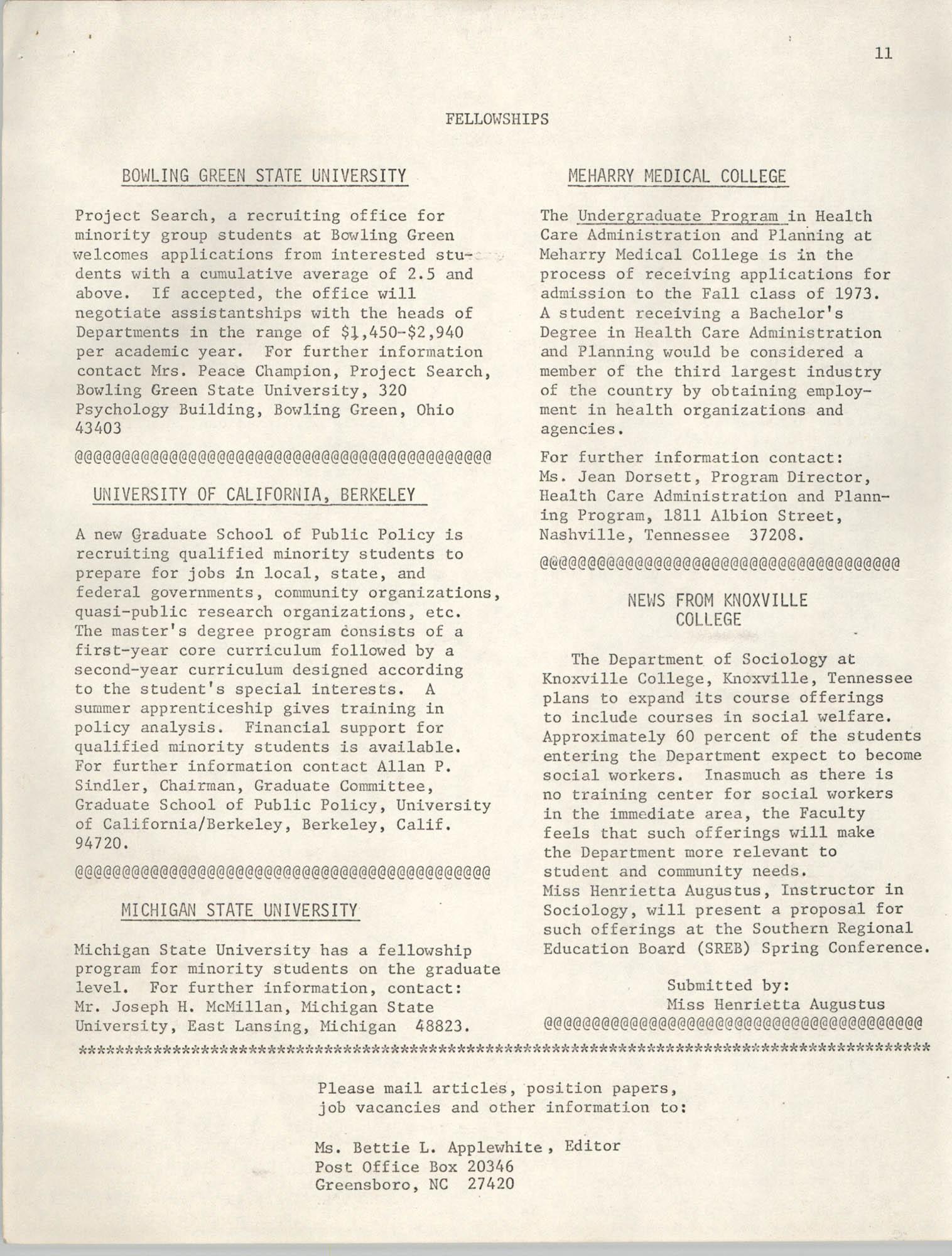 SHARE, Volume I, Number 8, April 1973, Page 11