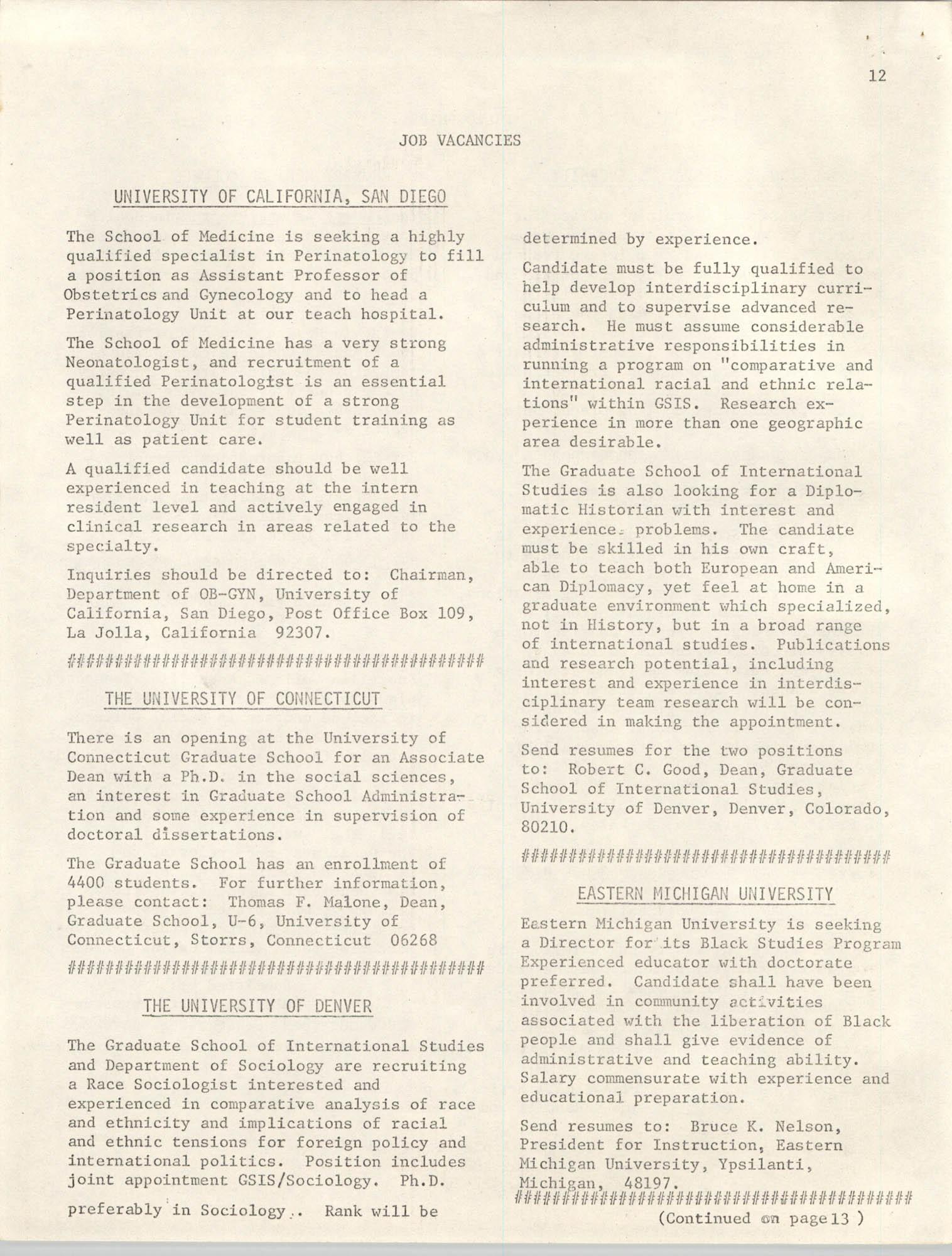SHARE, Volume I, Number 8, April 1973, Page 12
