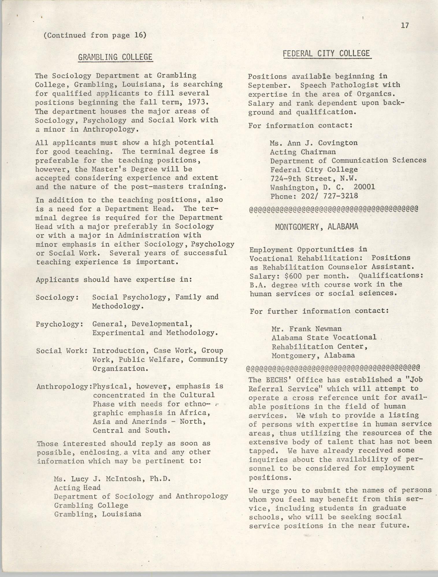 SHARE, Volume I, Number 8, April 1973, Page 17