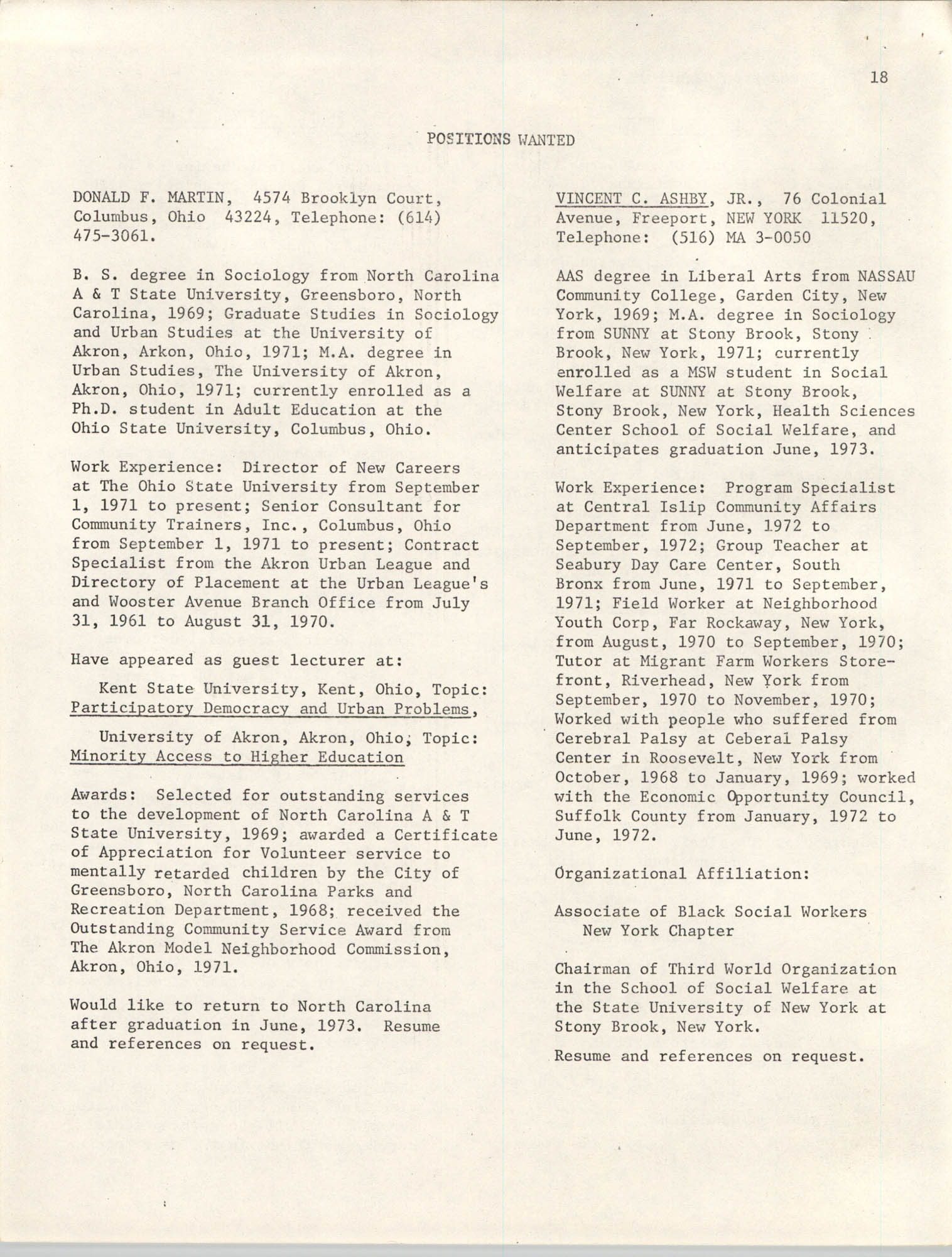 SHARE, Volume I, Number 8, April 1973, Page 18