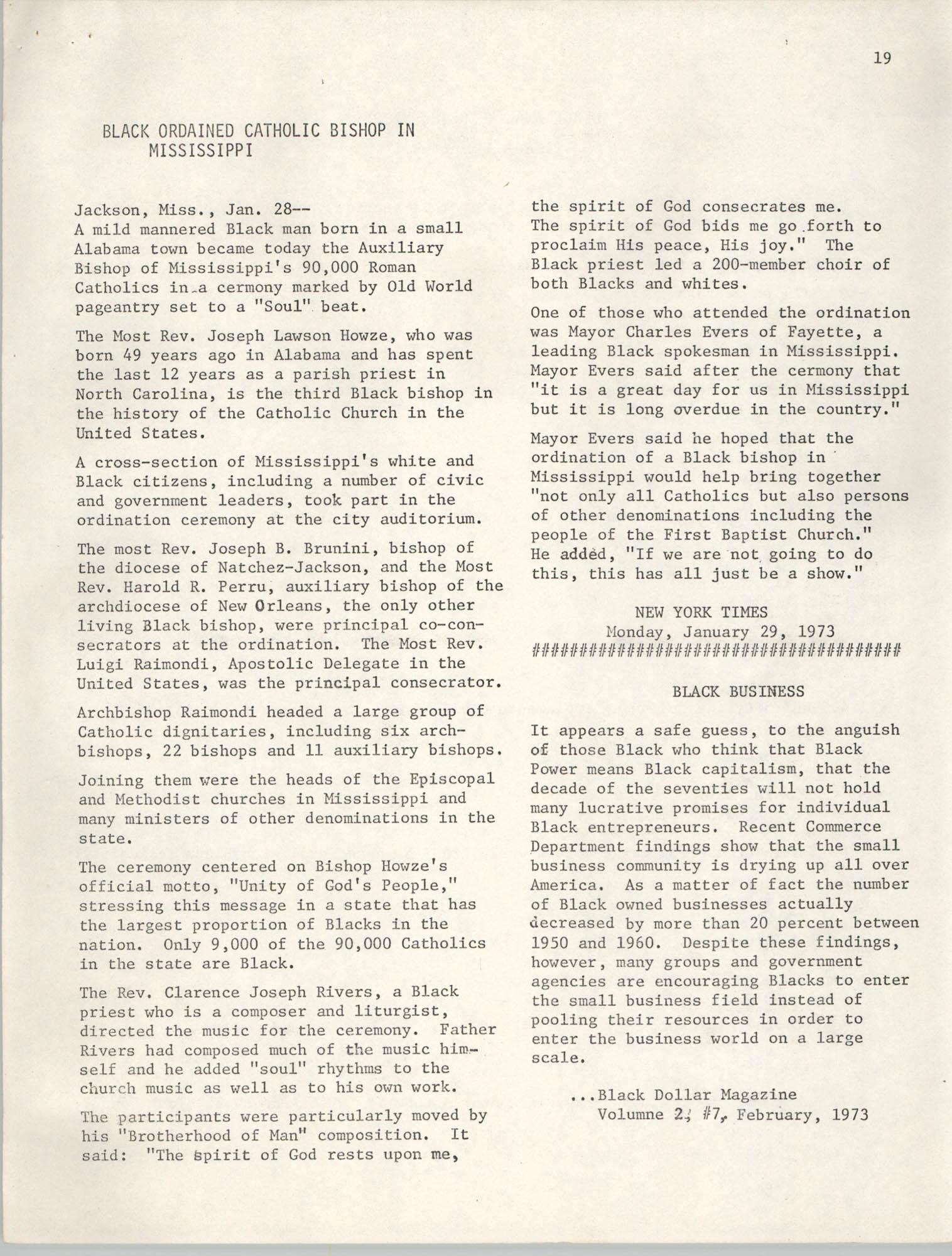 SHARE, Volume I, Number 8, April 1973, Page 19