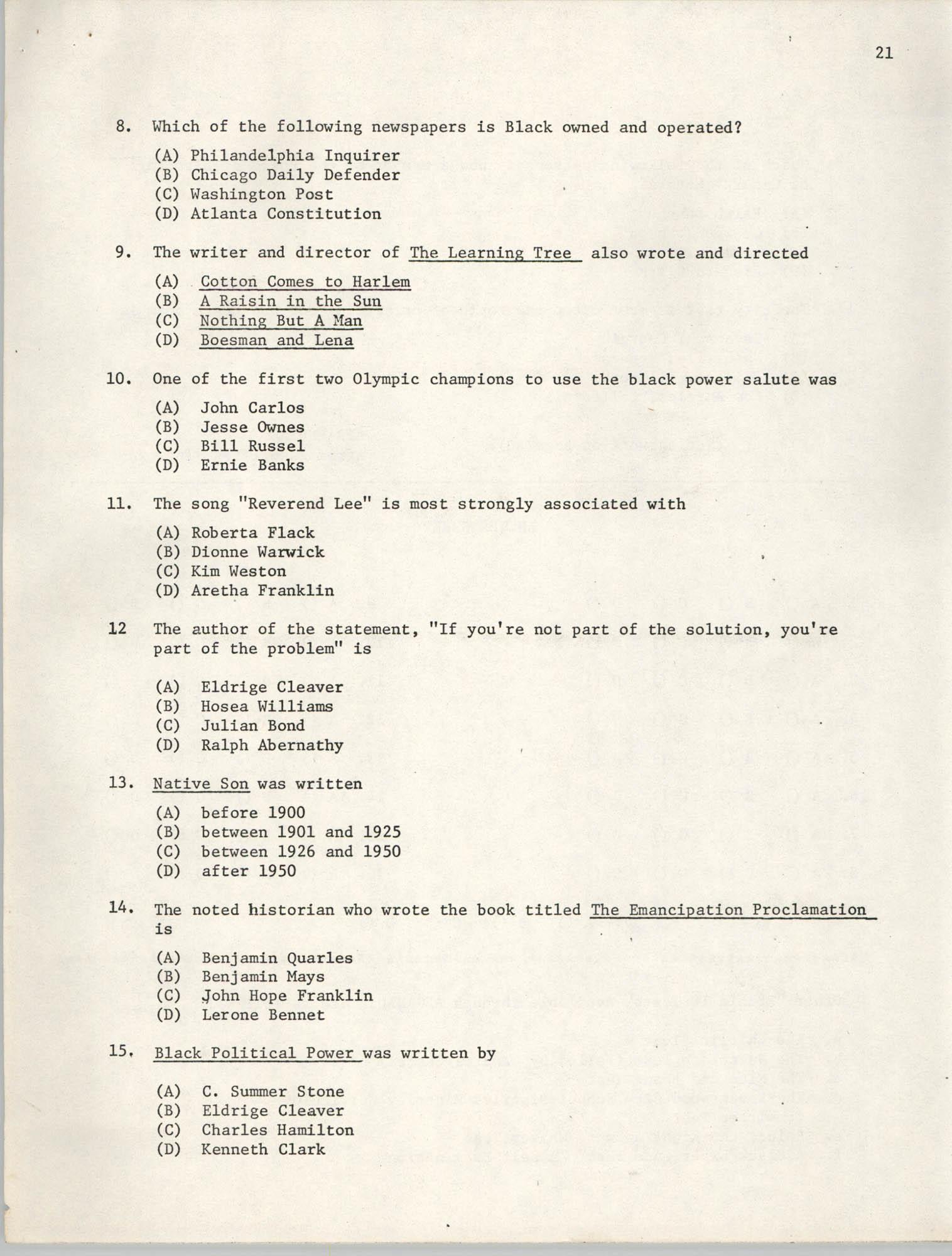 SHARE, Volume I, Number 8, April 1973, Page 21