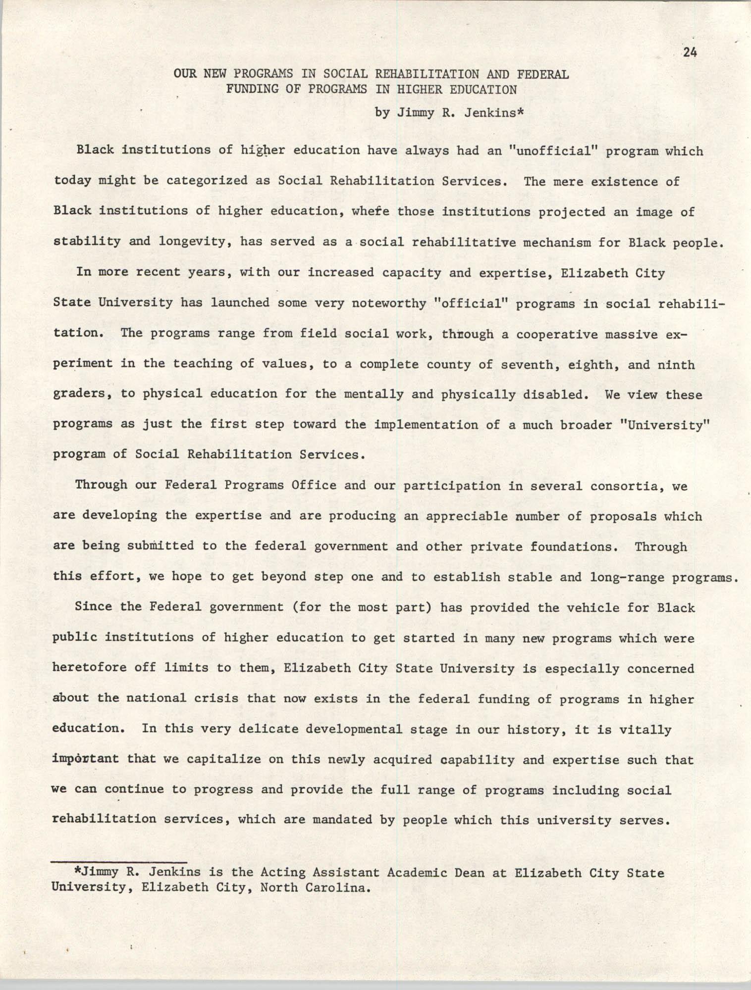 SHARE, Volume I, Number 8, April 1973, Page 24