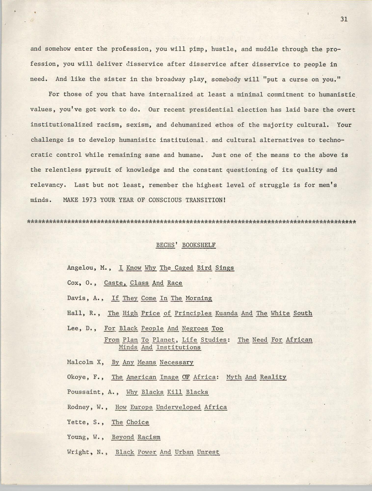 SHARE, Volume I, Number 8, April 1973, Page 31