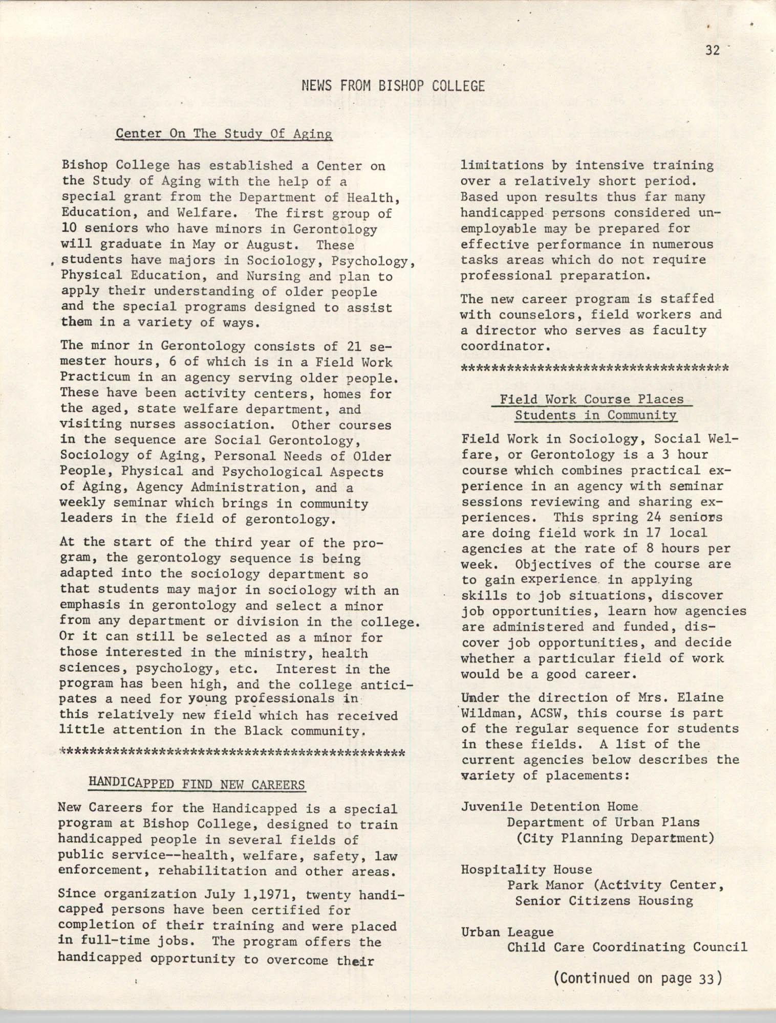 SHARE, Volume I, Number 8, April 1973, Page 32