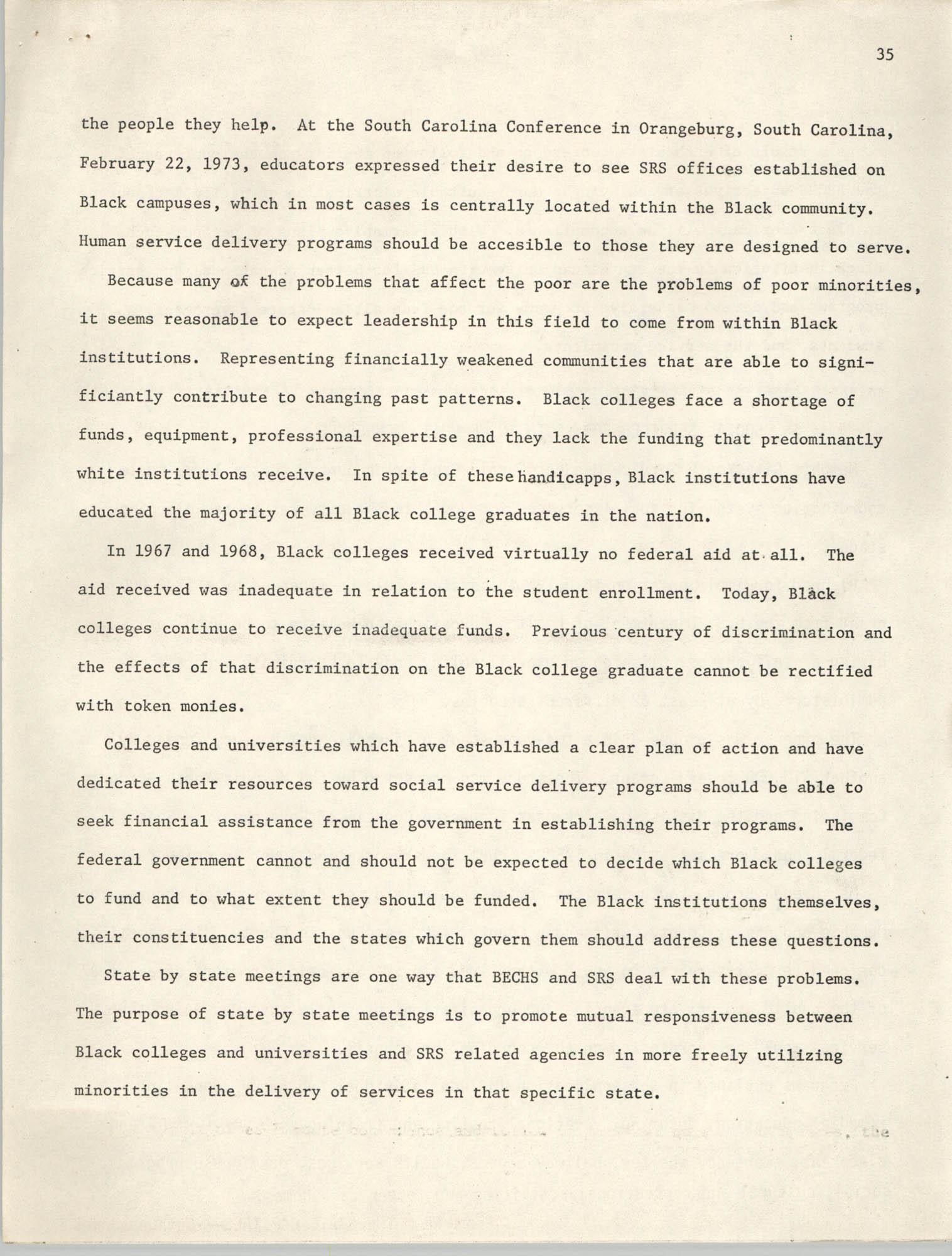 SHARE, Volume I, Number 8, April 1973, Page 35