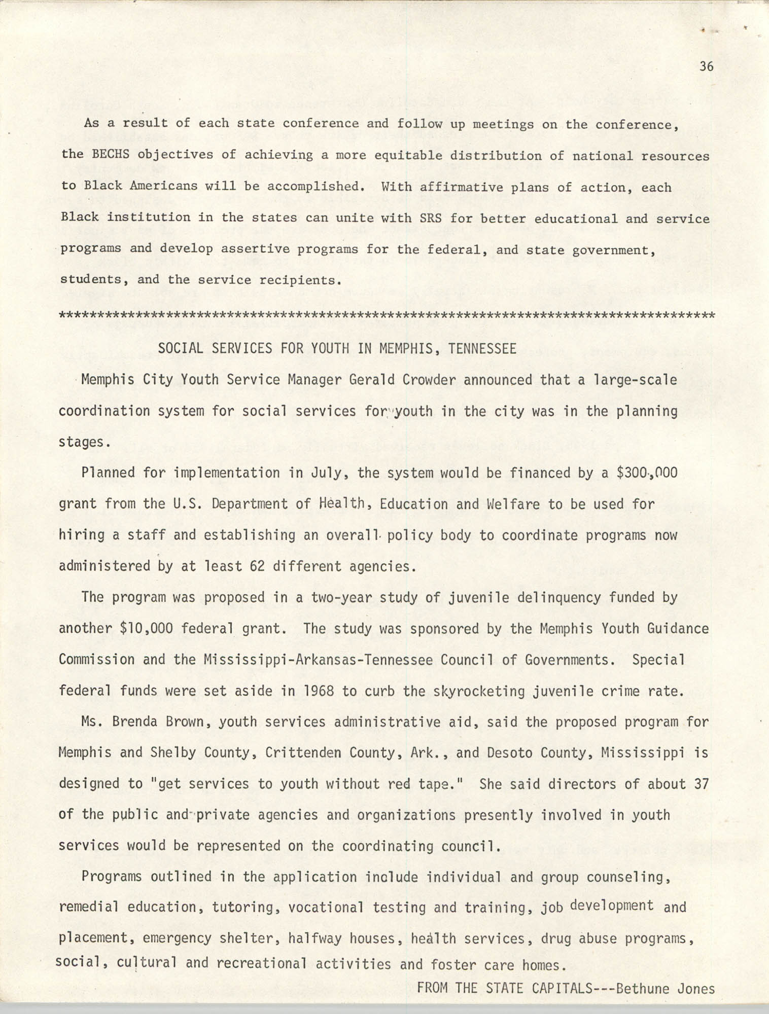 SHARE, Volume I, Number 8, April 1973, Page 36