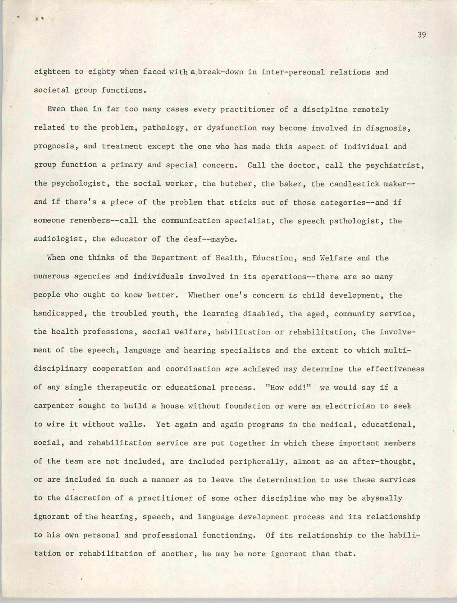 SHARE, Volume I, Number 8, April 1973, Page 39