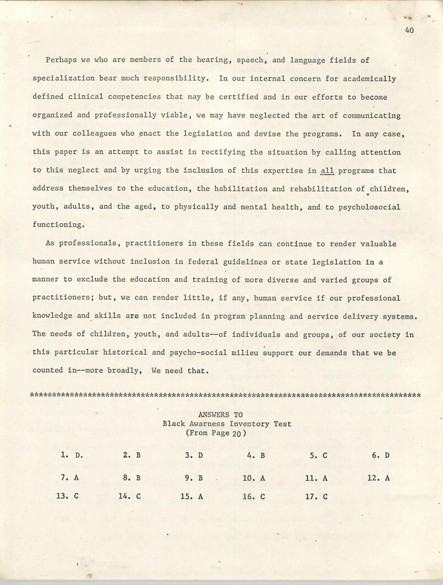 SHARE, Volume I, Number 8, April 1973, Page 40