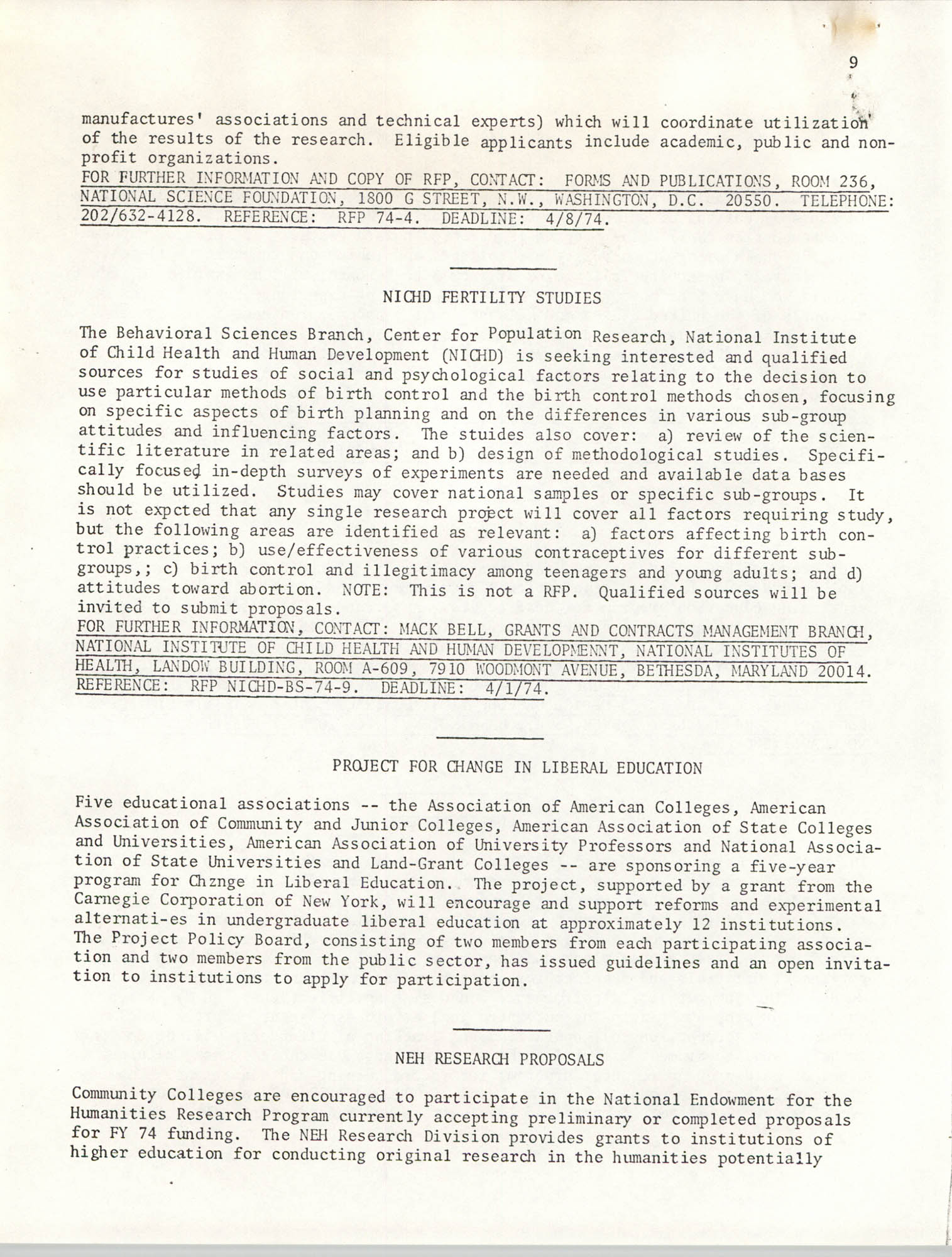 SHARE, Volume II, Number 3, March 1974, Page 9