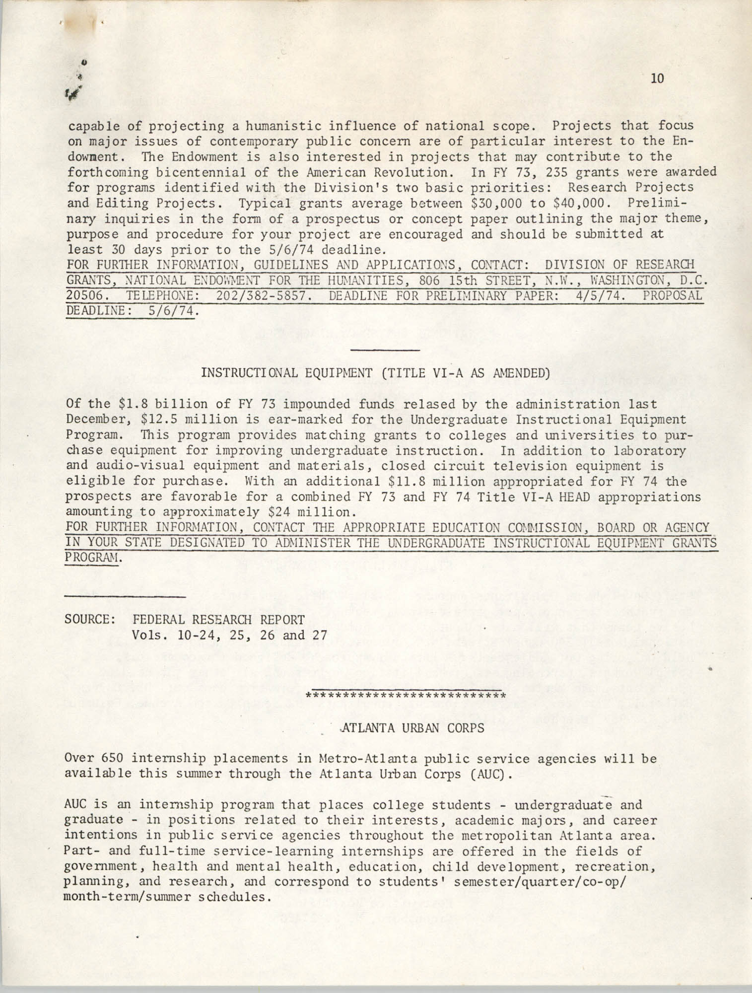 SHARE, Volume II, Number 3, March 1974, Page 10