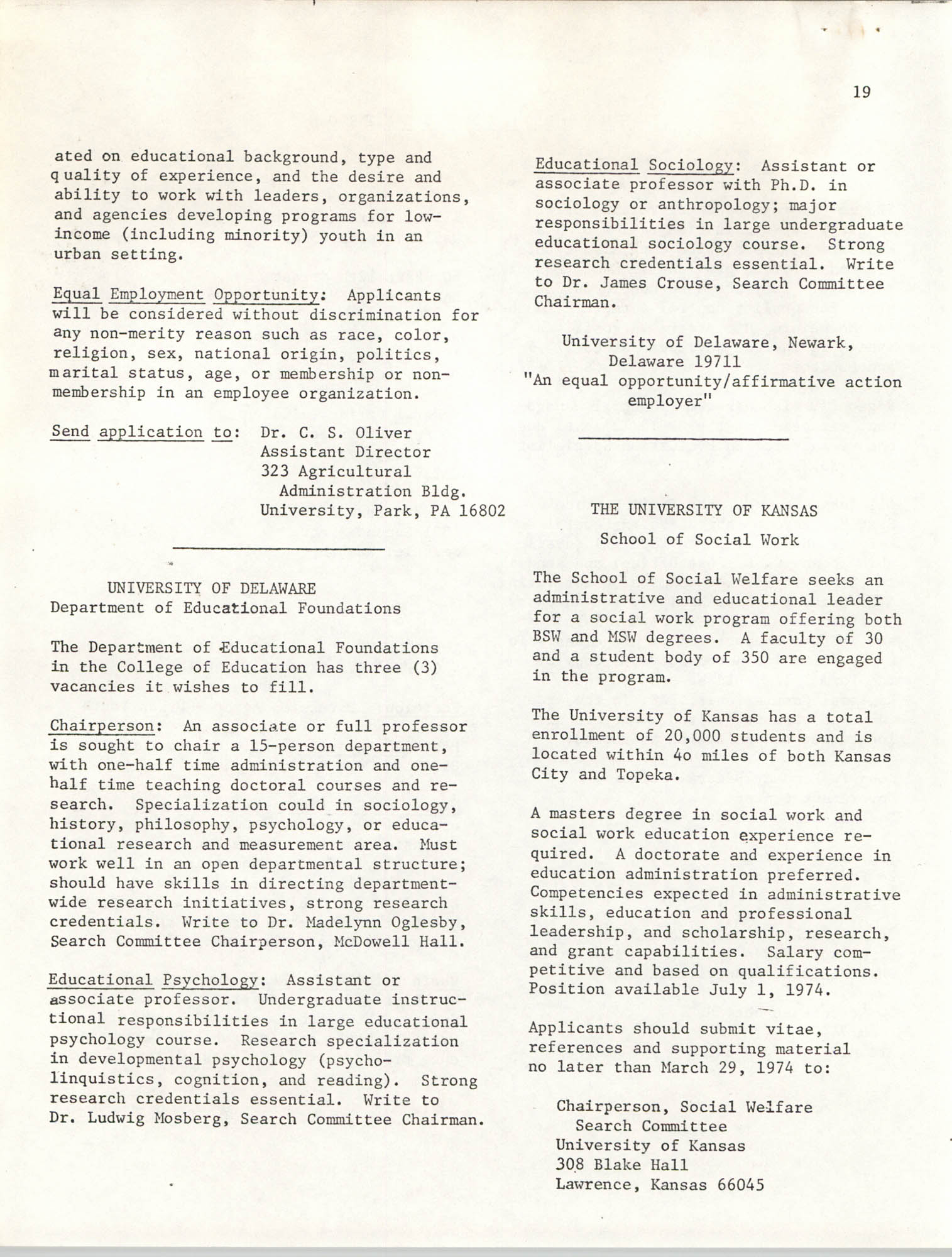 SHARE, Volume II, Number 3, March 1974, Page 19