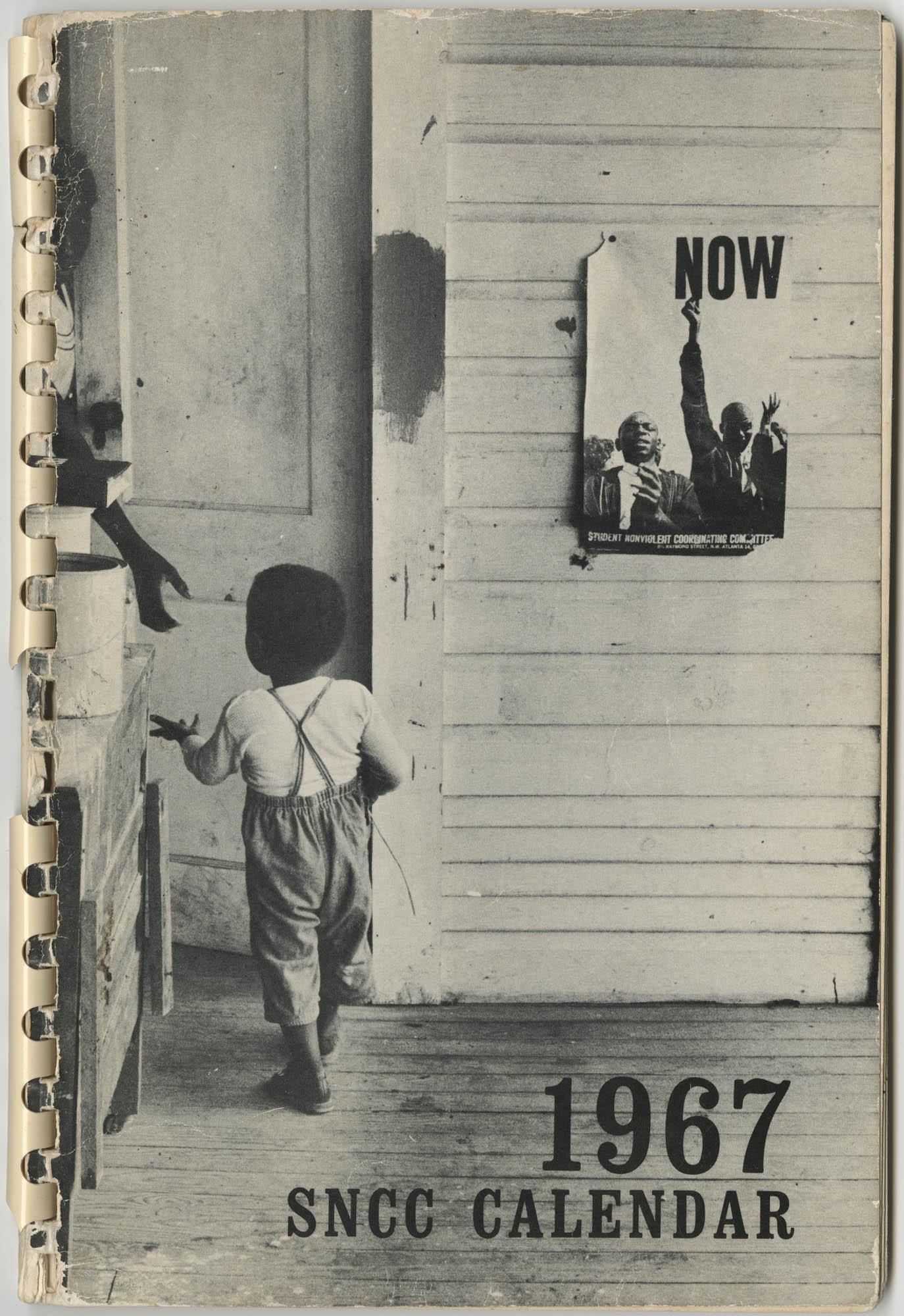 1967 SNCC Calendar, Front Cover