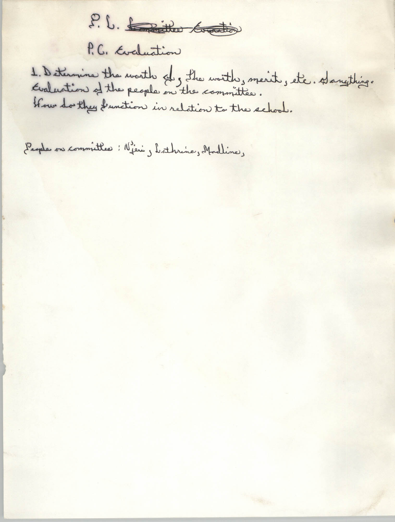 All African People's Revolutionary Party Handwritten Notes, Page 16