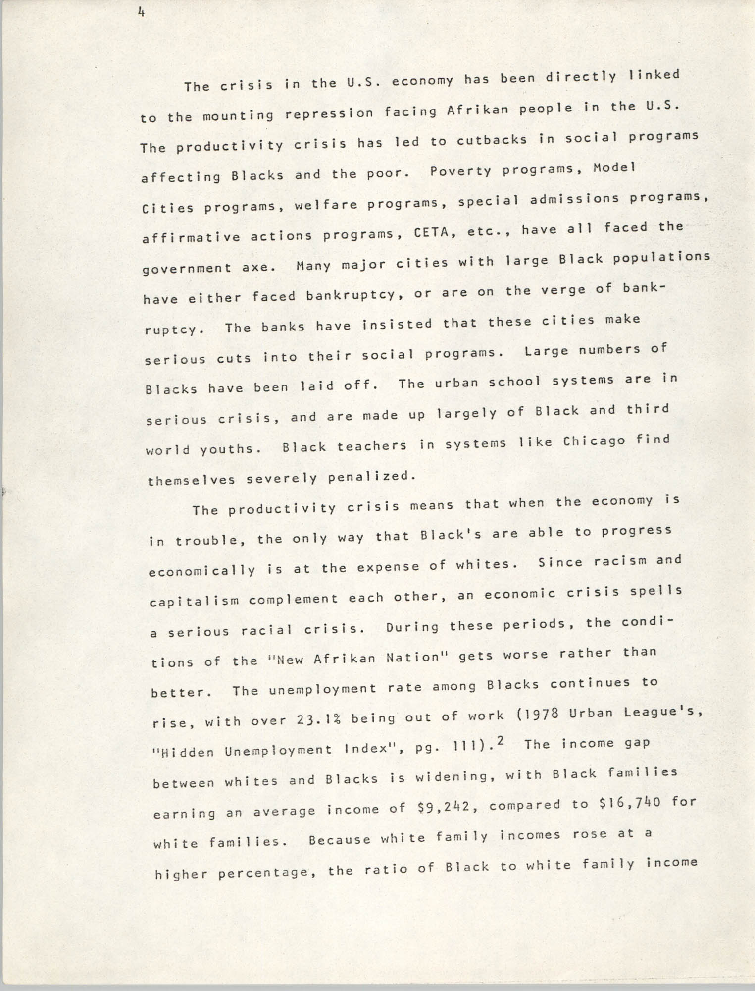 Pan-African Committee of the Black United Front, Page 4