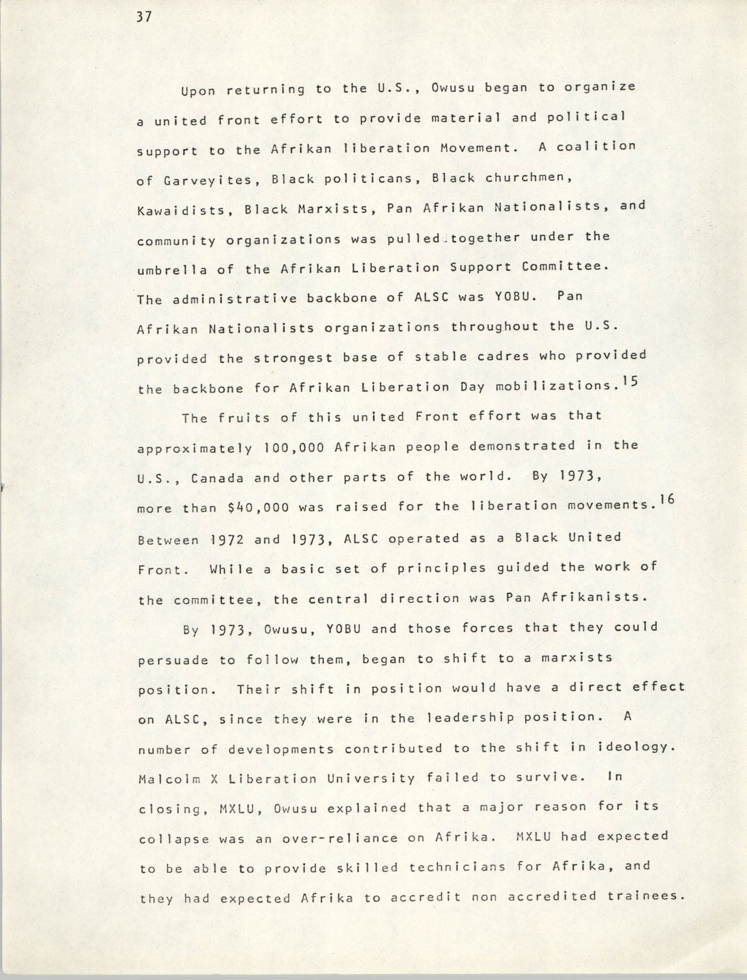 Pan-African Committee of the Black United Front, Page 37