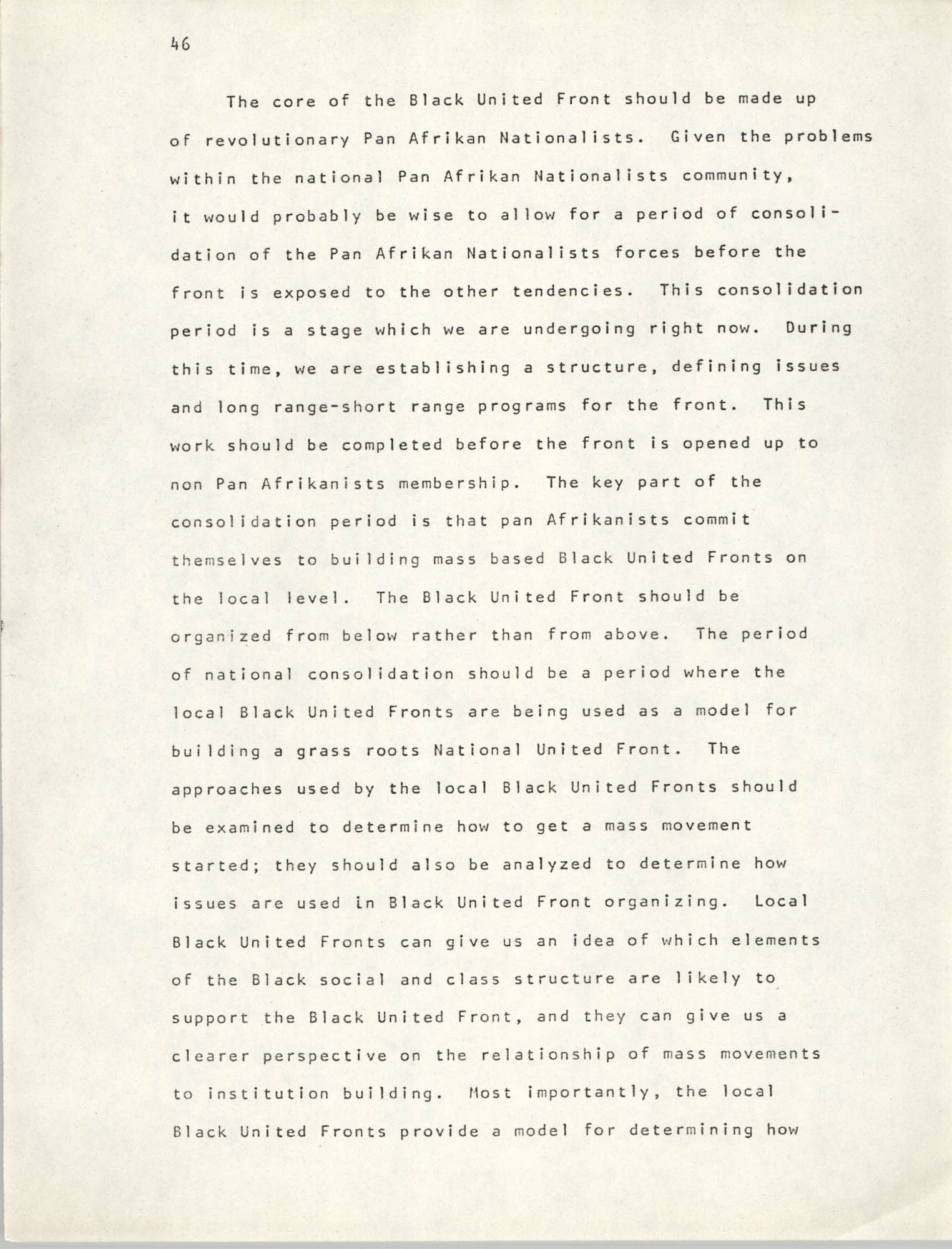 Pan-African Committee of the Black United Front, Page 46