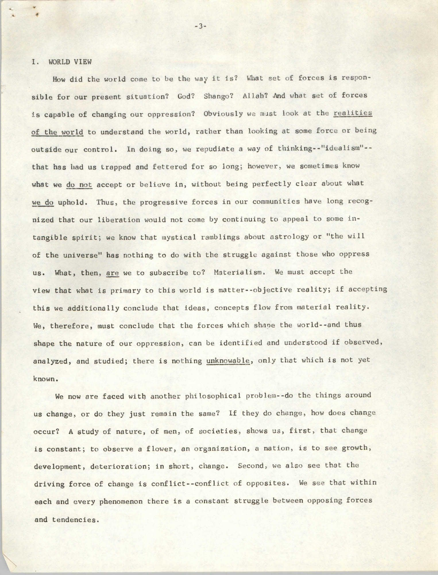 Student Organization for Black Unity Ideological Paper, Page 3