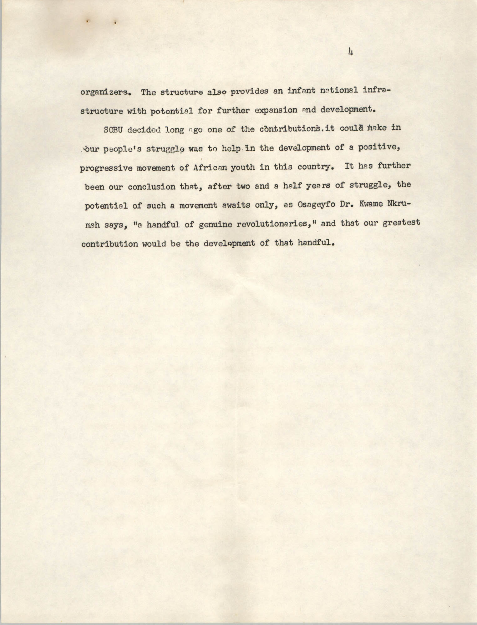 A Proposal for the Development of a Training Institute, Page 4